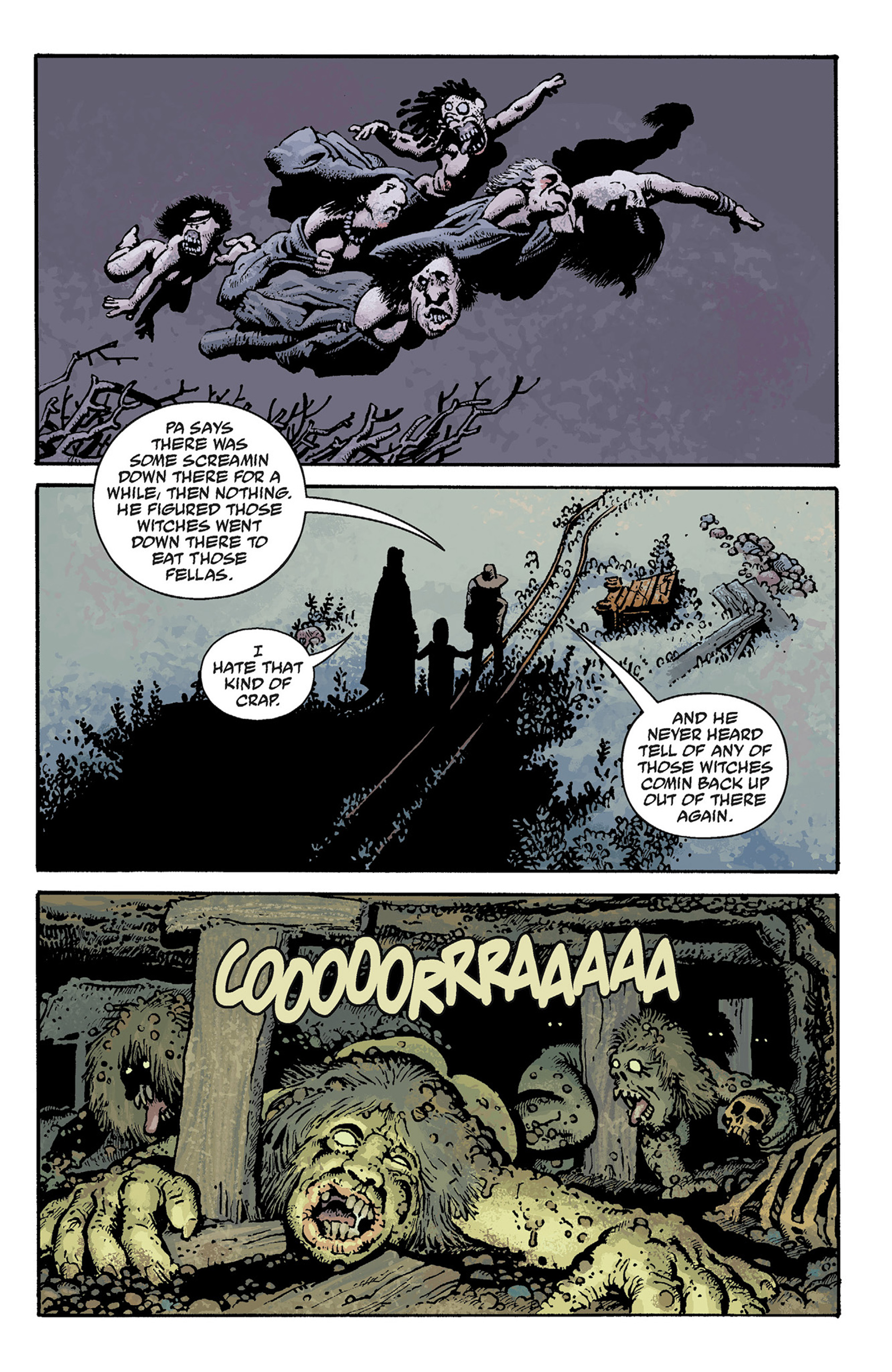 Read online Hellboy: The Crooked Man and Others comic -  Issue # TPB - 39