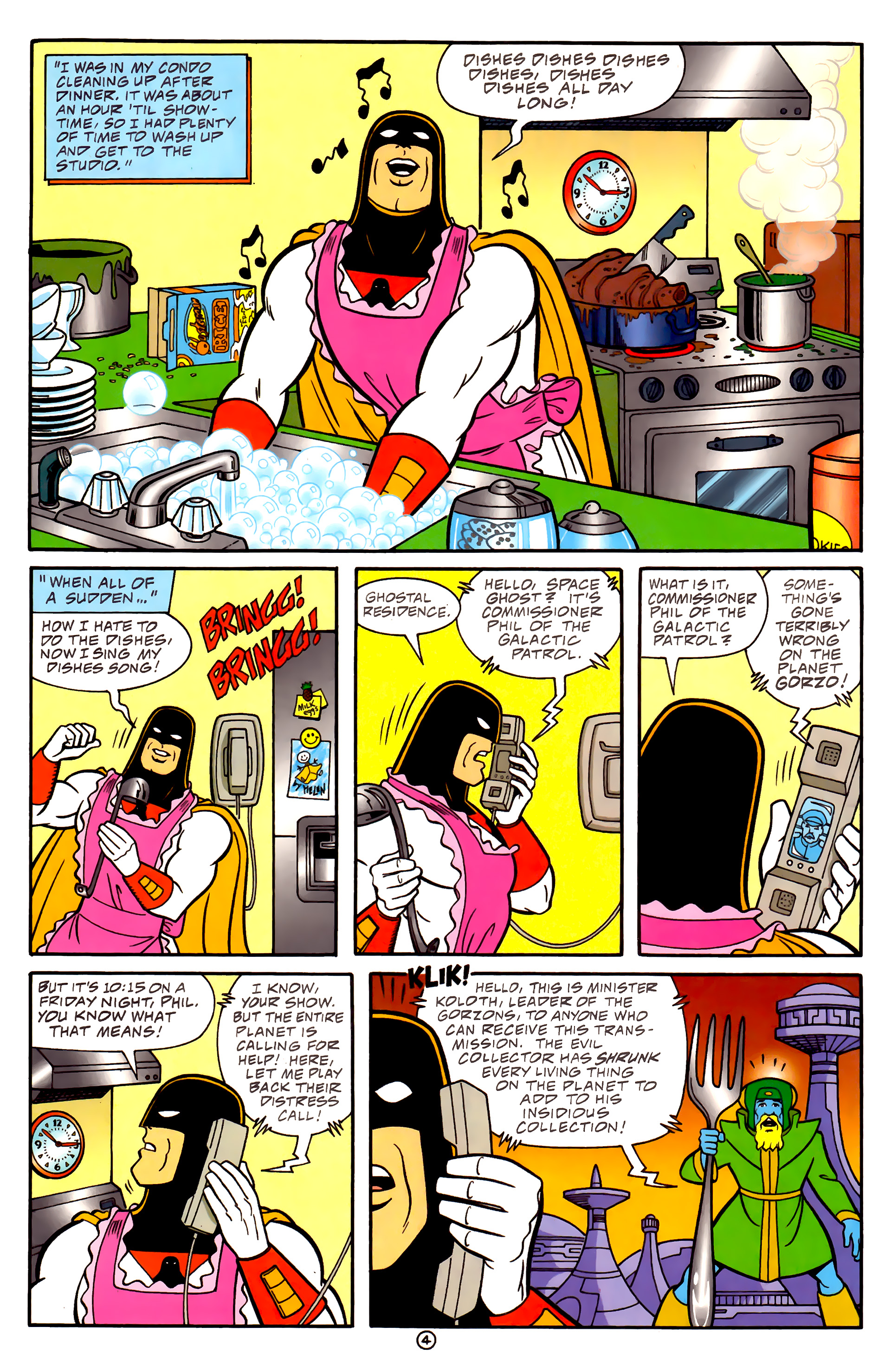 Cartoon Network Starring Issue 4 | Viewcomic reading comics