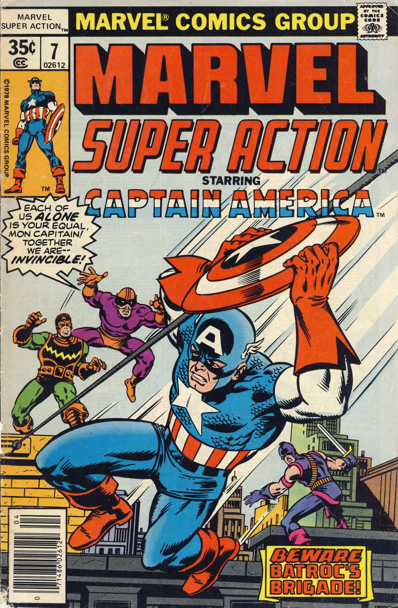 Marvel Super Action (1977) issue 7 - Page 1