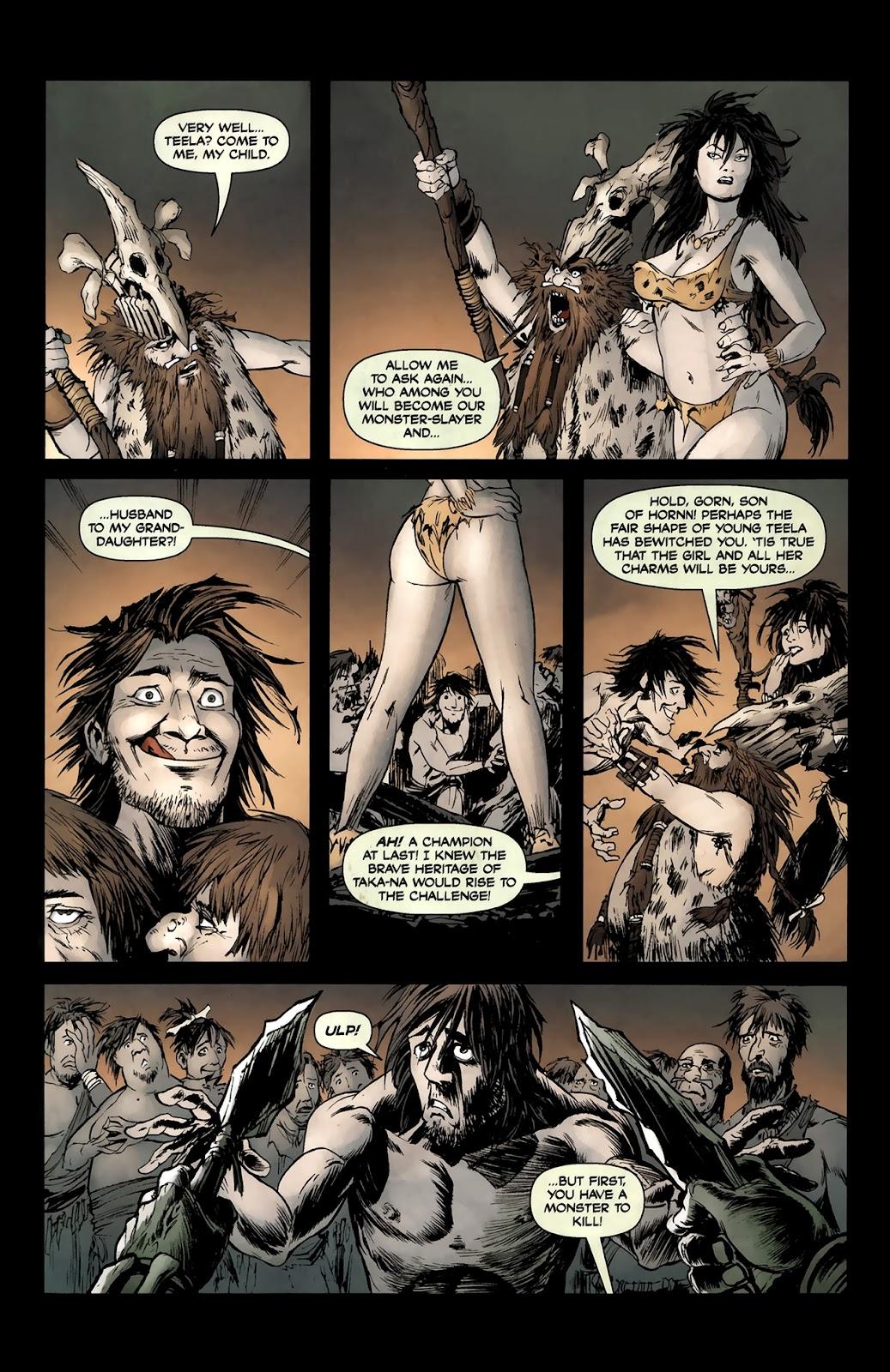 Read online Tyrannosaurus Rex comic -  Issue # Full - 8