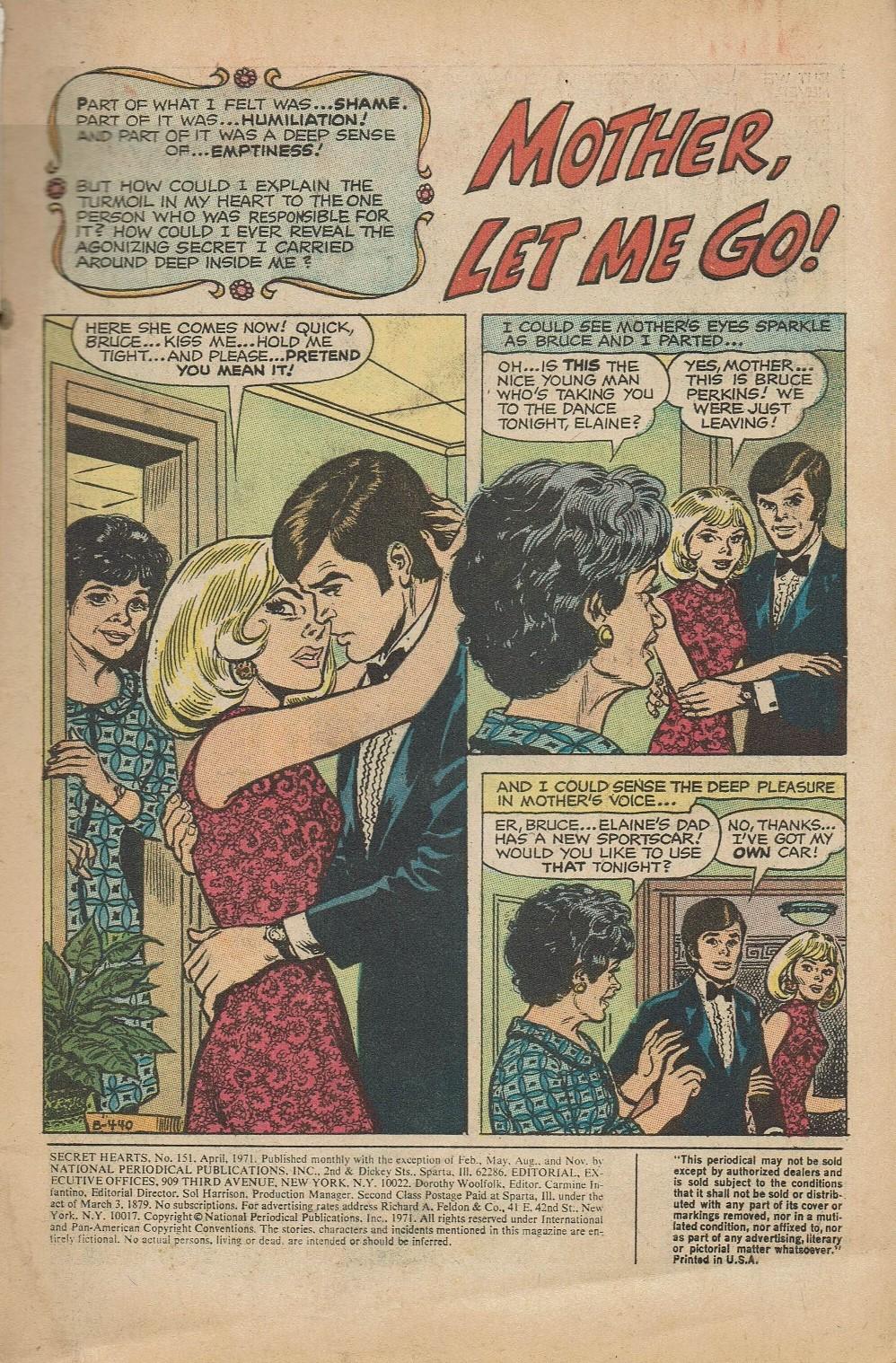 Read online Secret Hearts comic -  Issue #151 - 3
