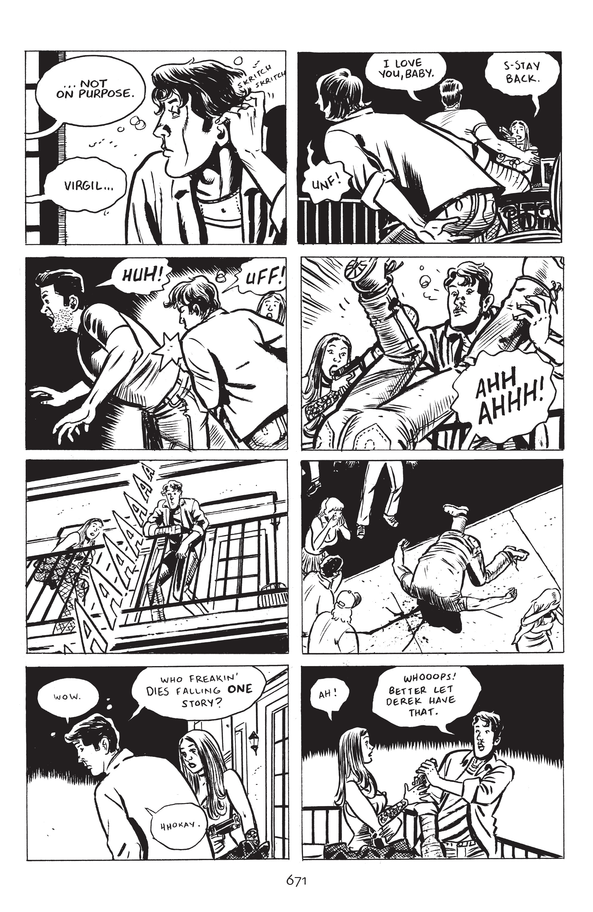 Read online Stray Bullets: Sunshine & Roses comic -  Issue #24 - 26