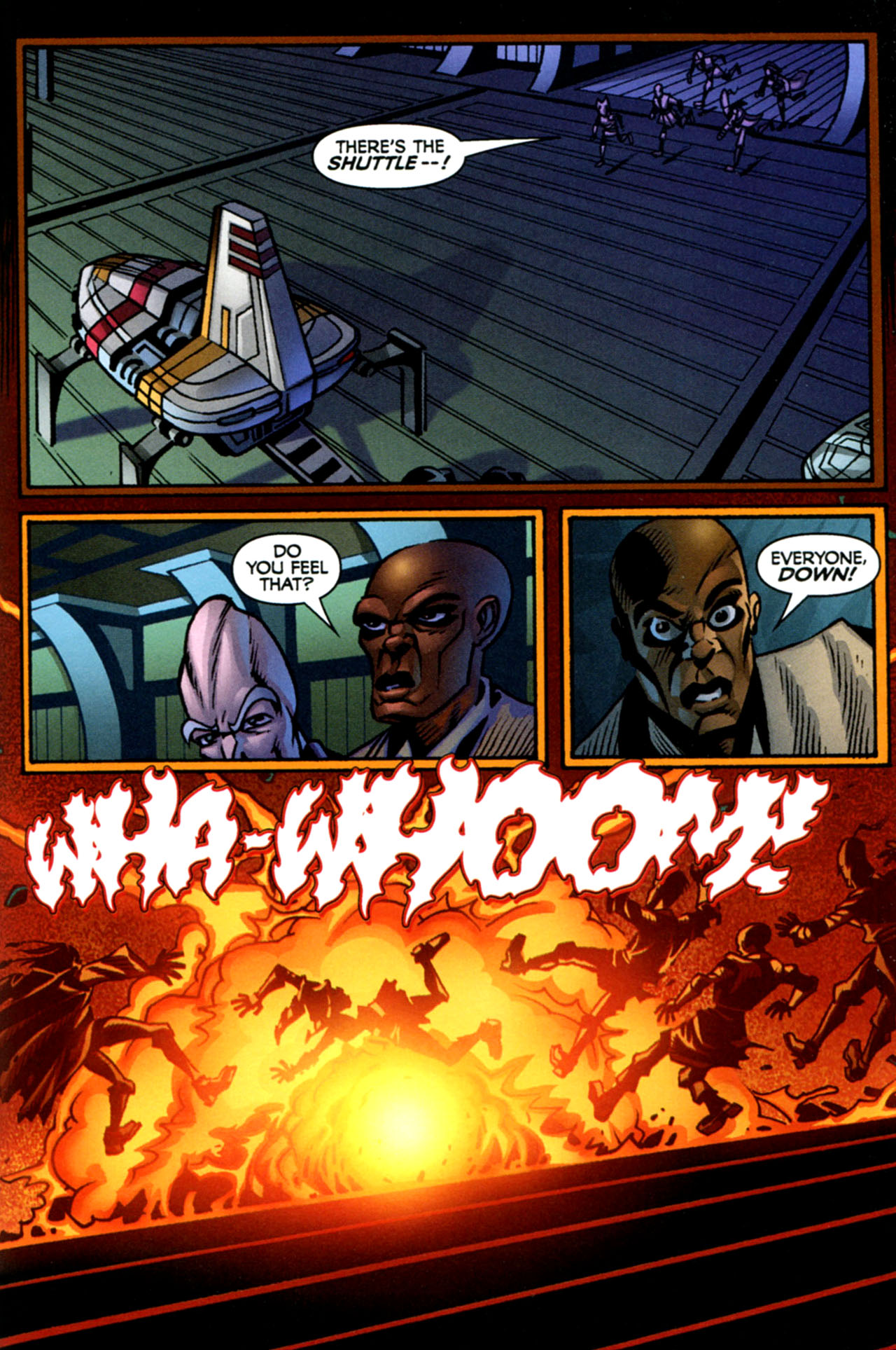 Read online Star Wars: The Clone Wars - The Starcrusher Trap comic -  Issue # Full - 40