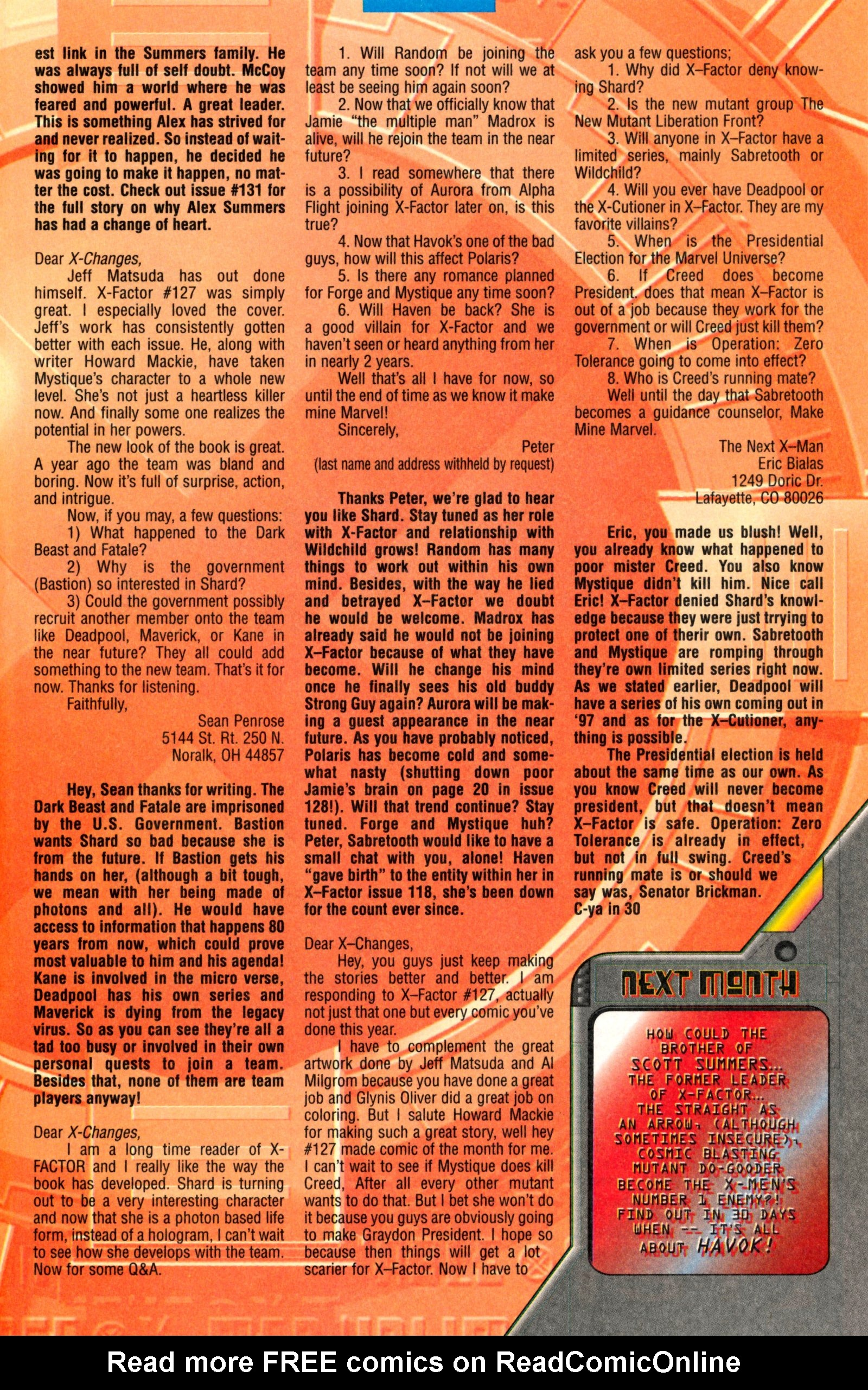 Read online X-Factor (1986) comic -  Issue #130 - 34