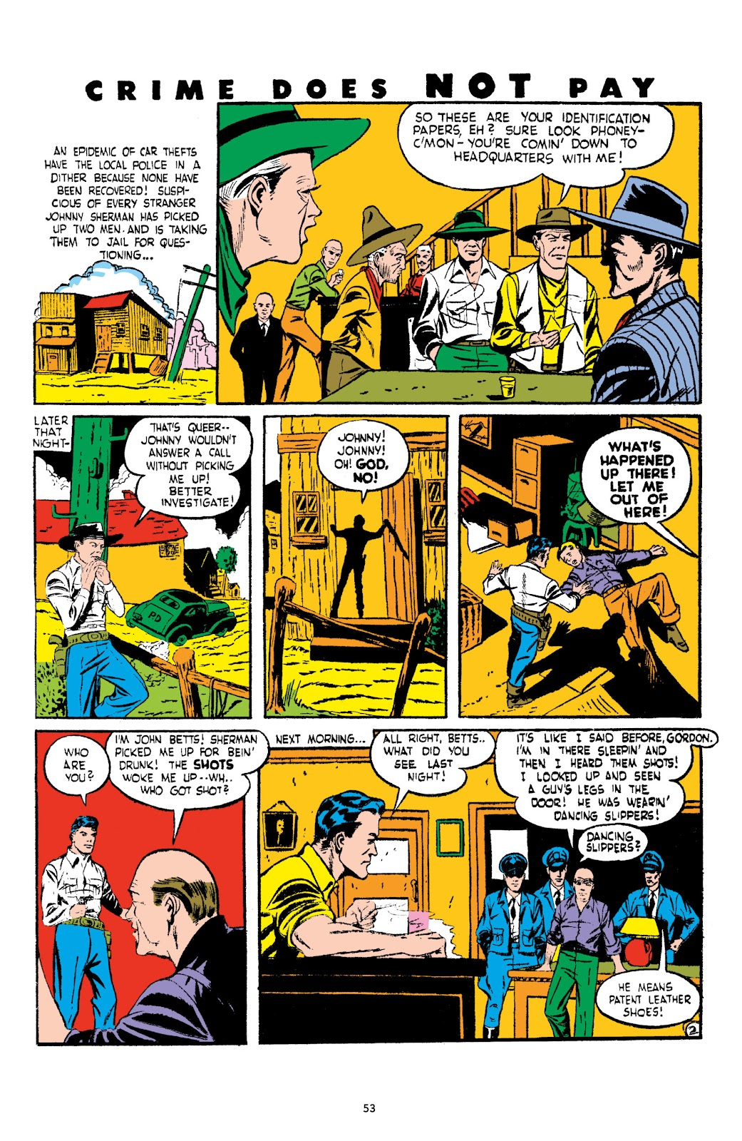 Read online Crime Does Not Pay Archives comic -  Issue # TPB 3 (Part 1) - 53