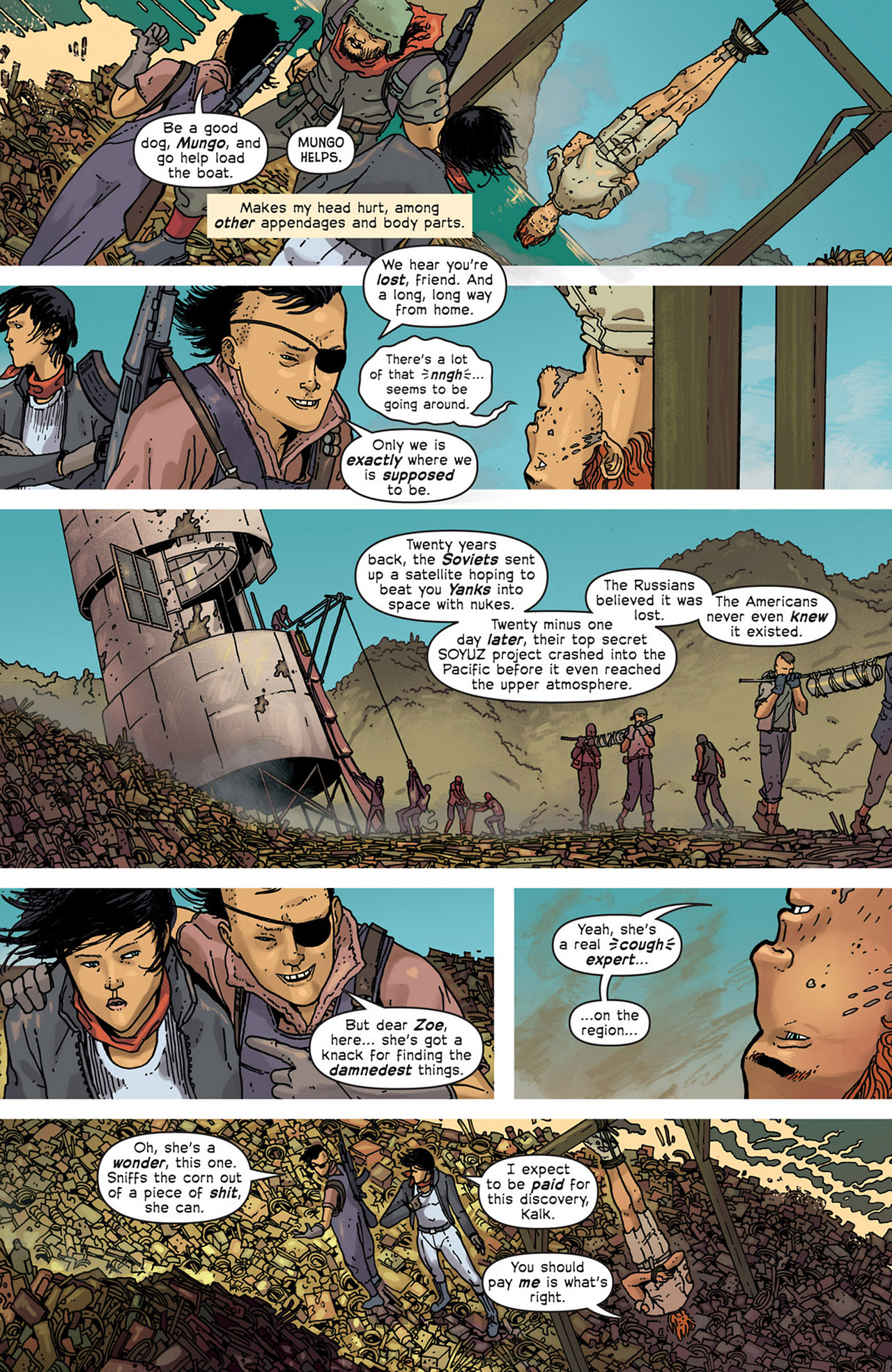 Read online Great Pacific comic -  Issue #5 - 6