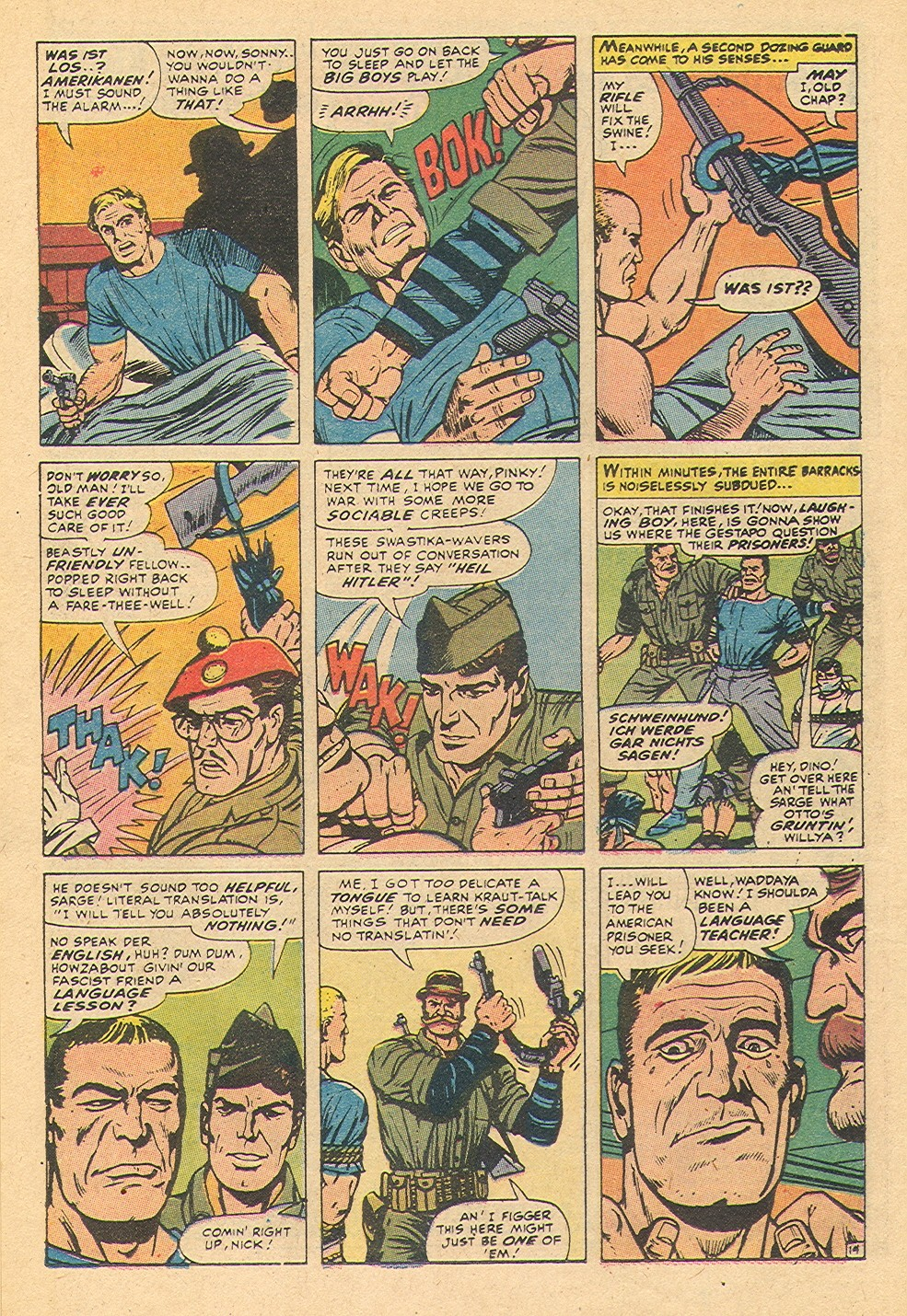Read online Sgt. Fury comic -  Issue #92 - 40