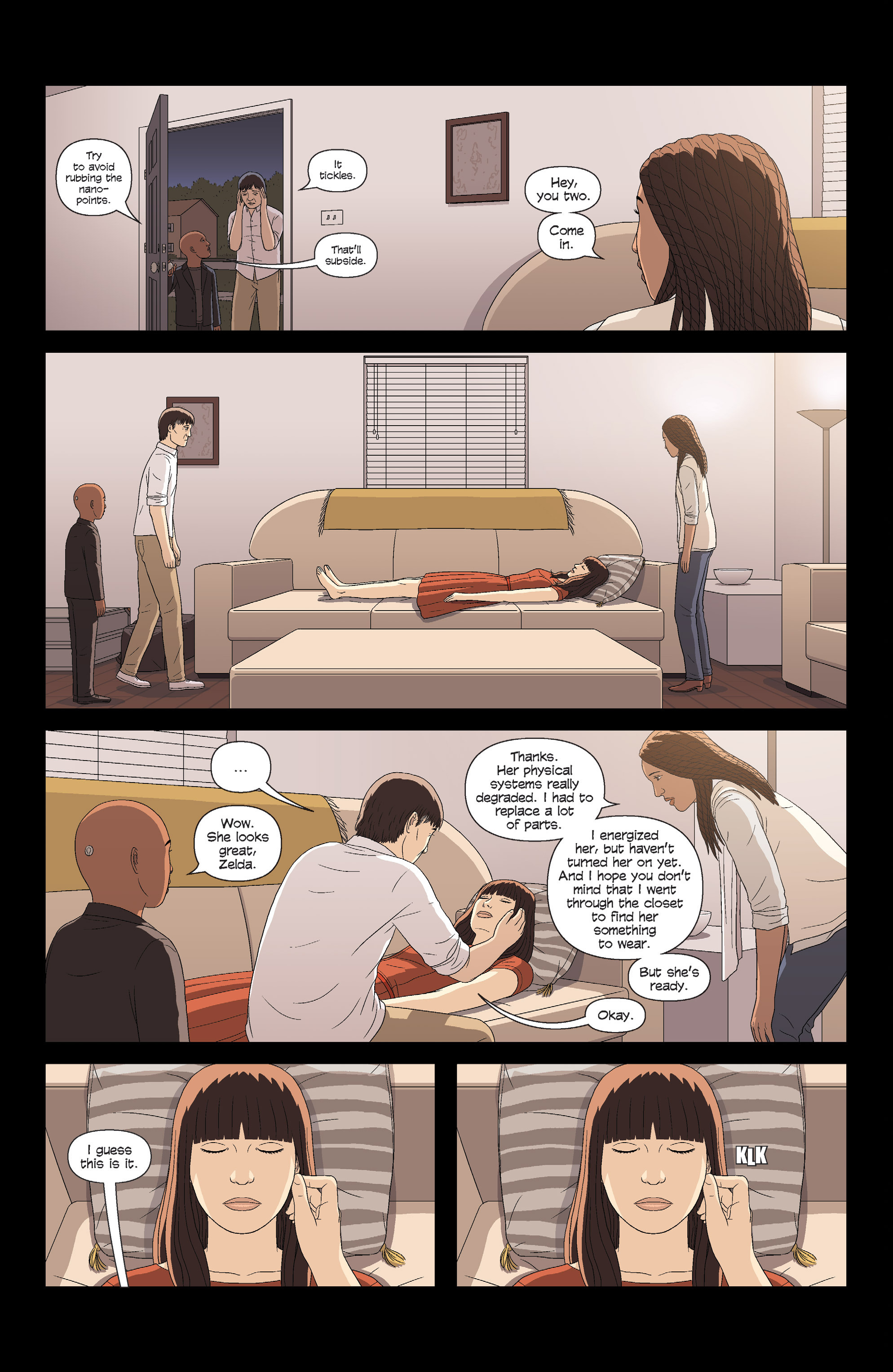 Read online Alex   Ada comic -  Issue # _TPB 3 - 121