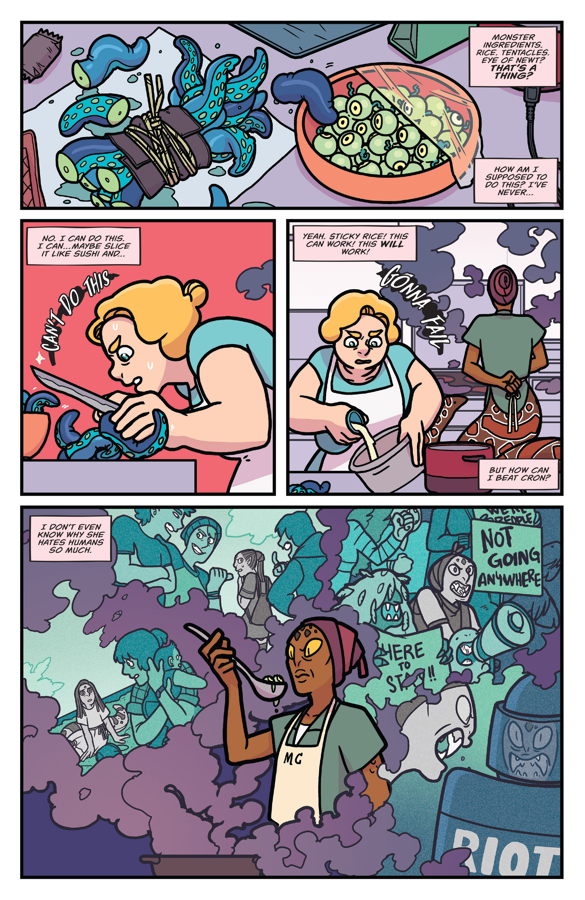 Read online Brave Chef Brianna comic -  Issue #4 - 12