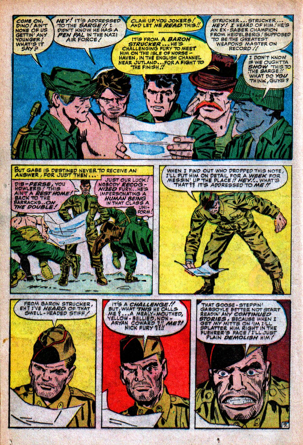 Read online Sgt. Fury comic -  Issue #5 - 12