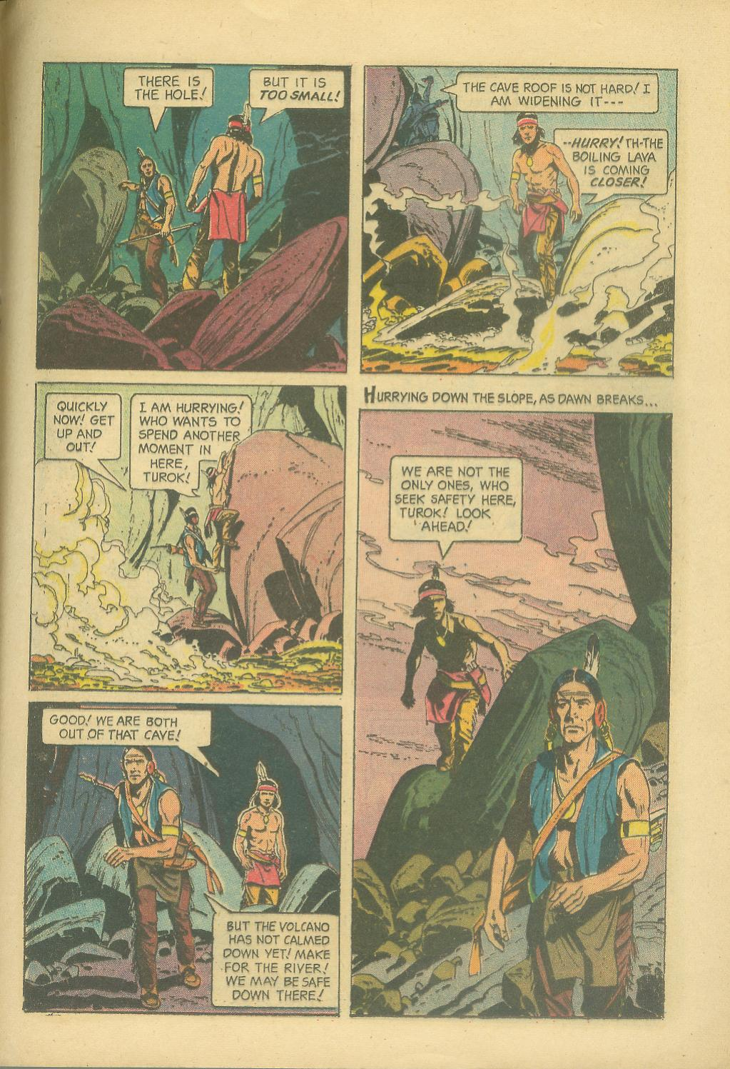 Read online Turok, Son of Stone comic -  Issue #30 - 25