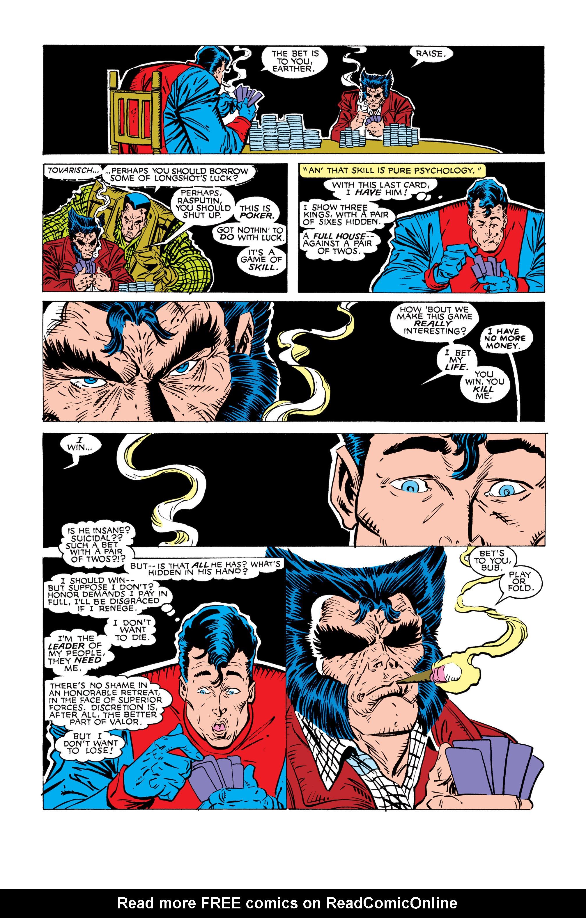 Read online Uncanny X-Men (1963) comic -  Issue #245 - 21