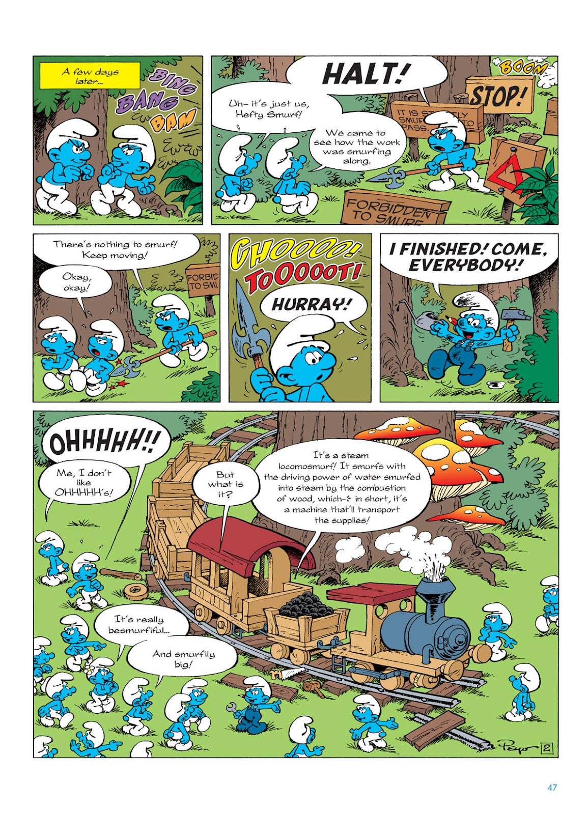 Read online The Smurfs comic -  Issue #6 - 47