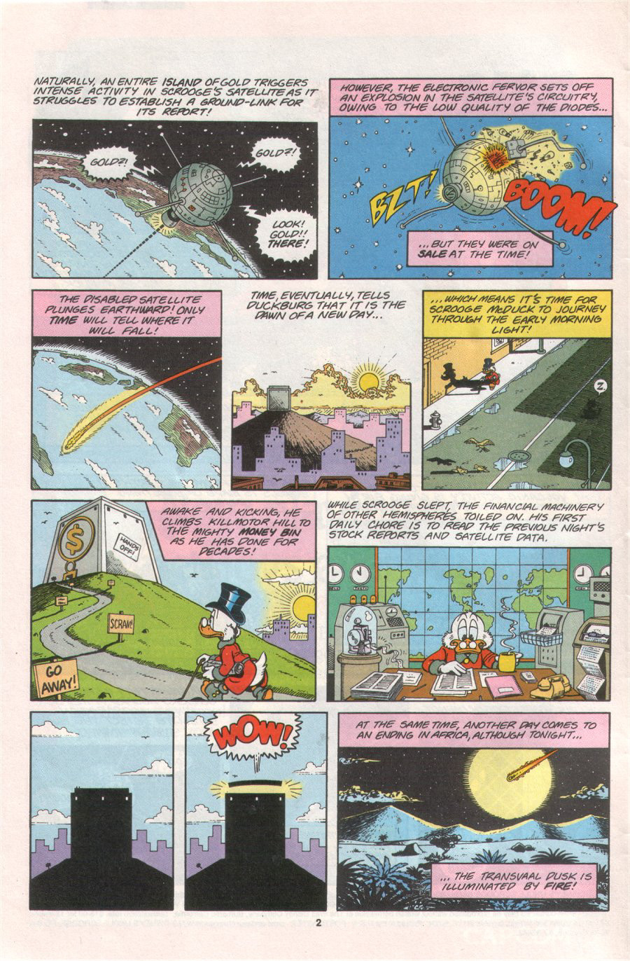 Read online Uncle Scrooge (1953) comic -  Issue #276 - 4
