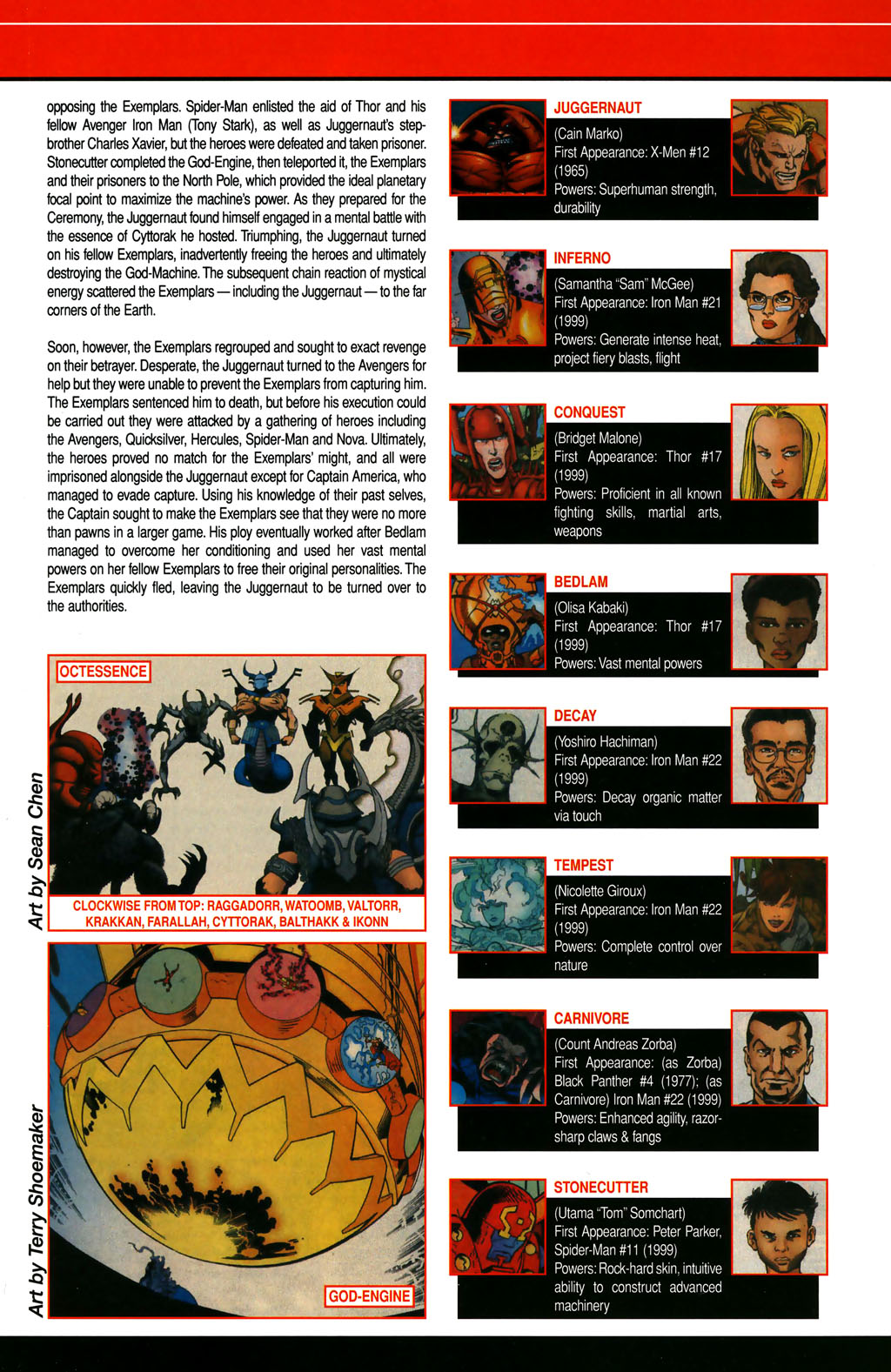 Read online All-New Official Handbook of the Marvel Universe A to Z comic -  Issue #4 - 25