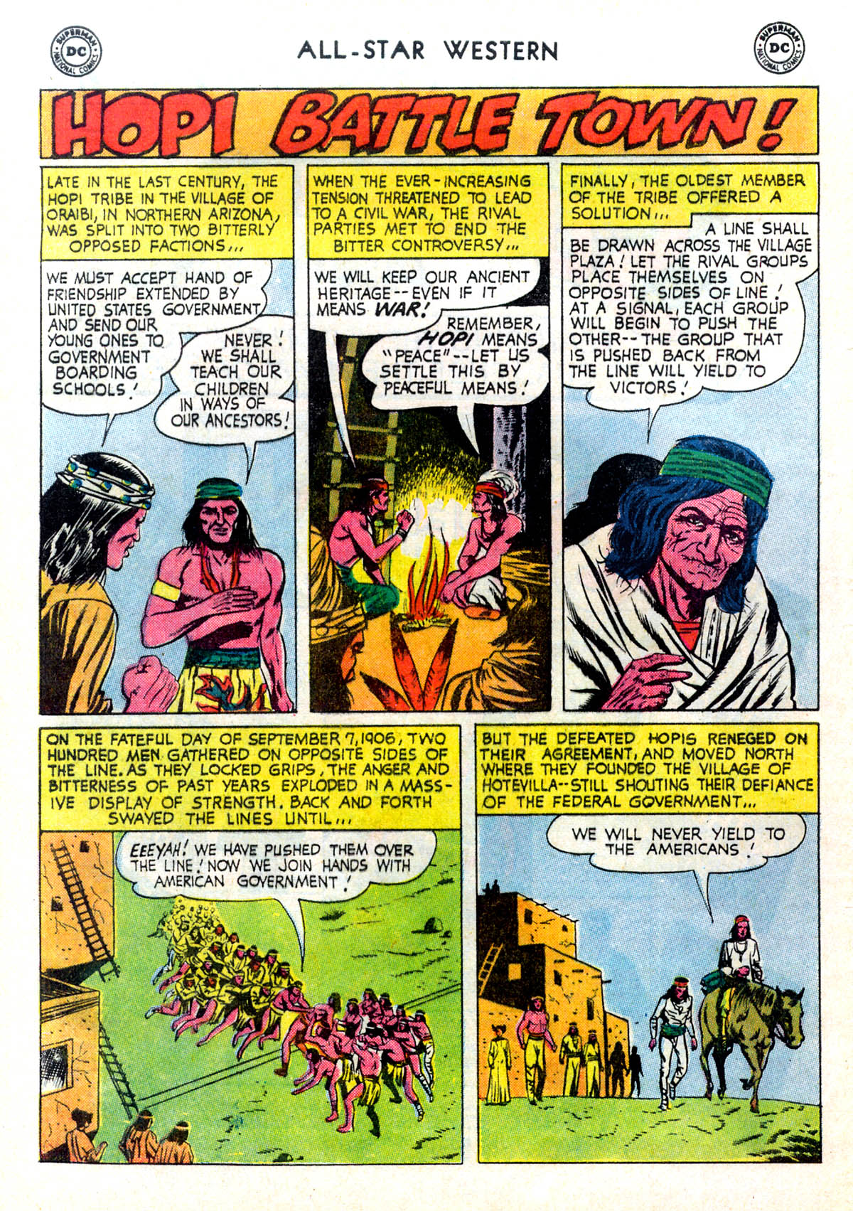 Read online All-Star Western (1951) comic -  Issue #116 - 12