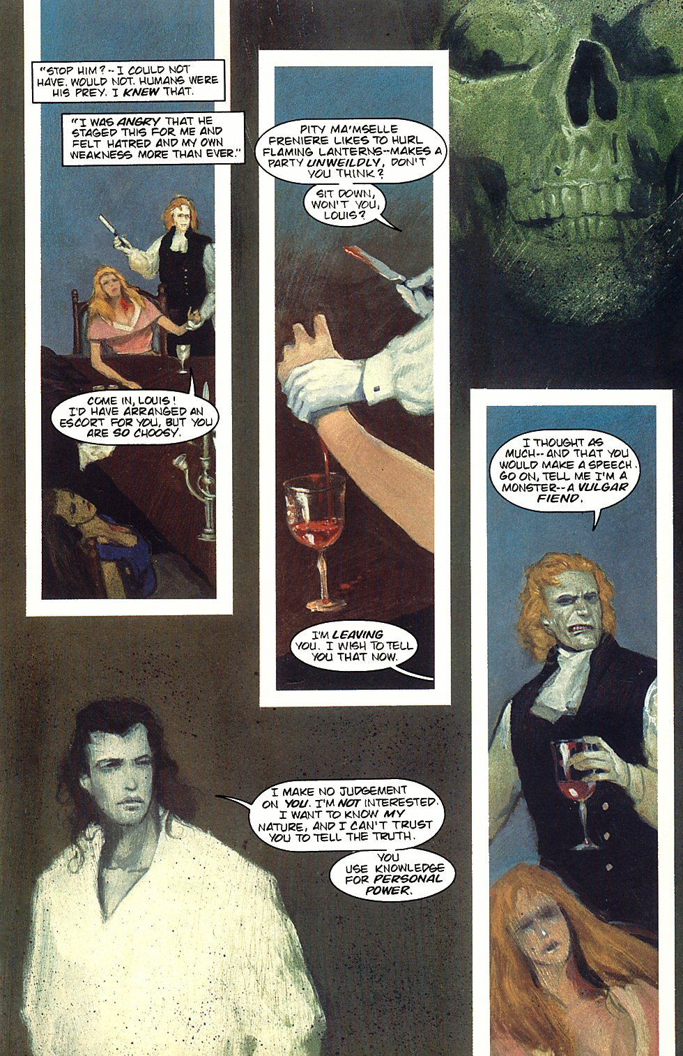 Read online Anne Rice's Interview with the Vampire comic -  Issue #3 - 18