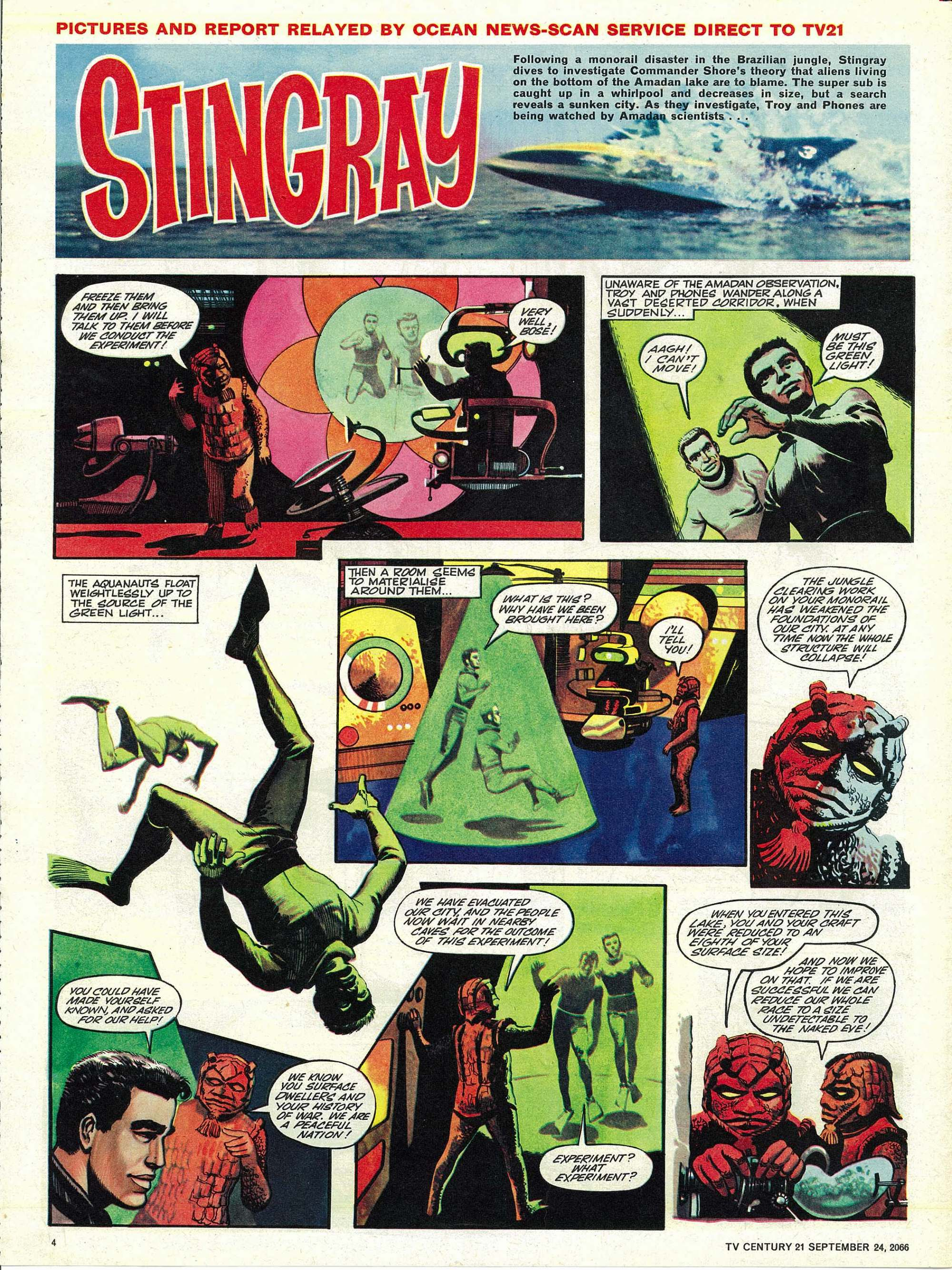 Read online TV Century 21 (TV 21) comic -  Issue #88 - 4