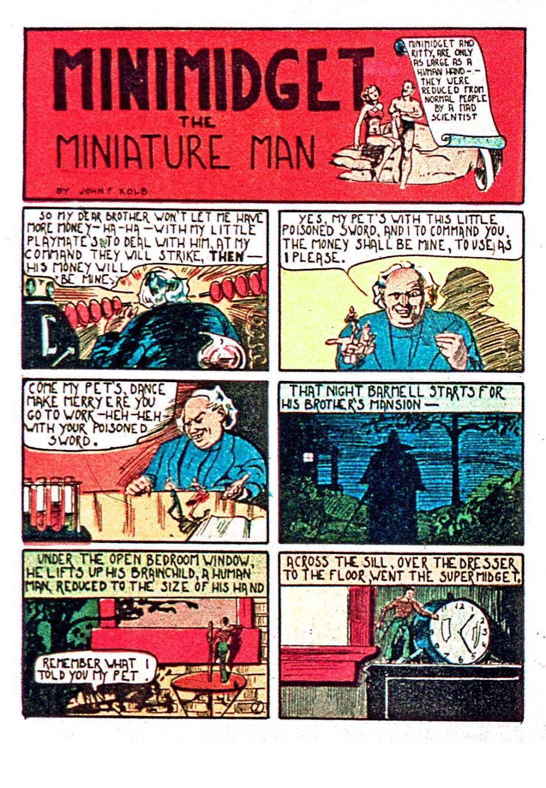 Amazing Man Comics issue 5 - Page 38