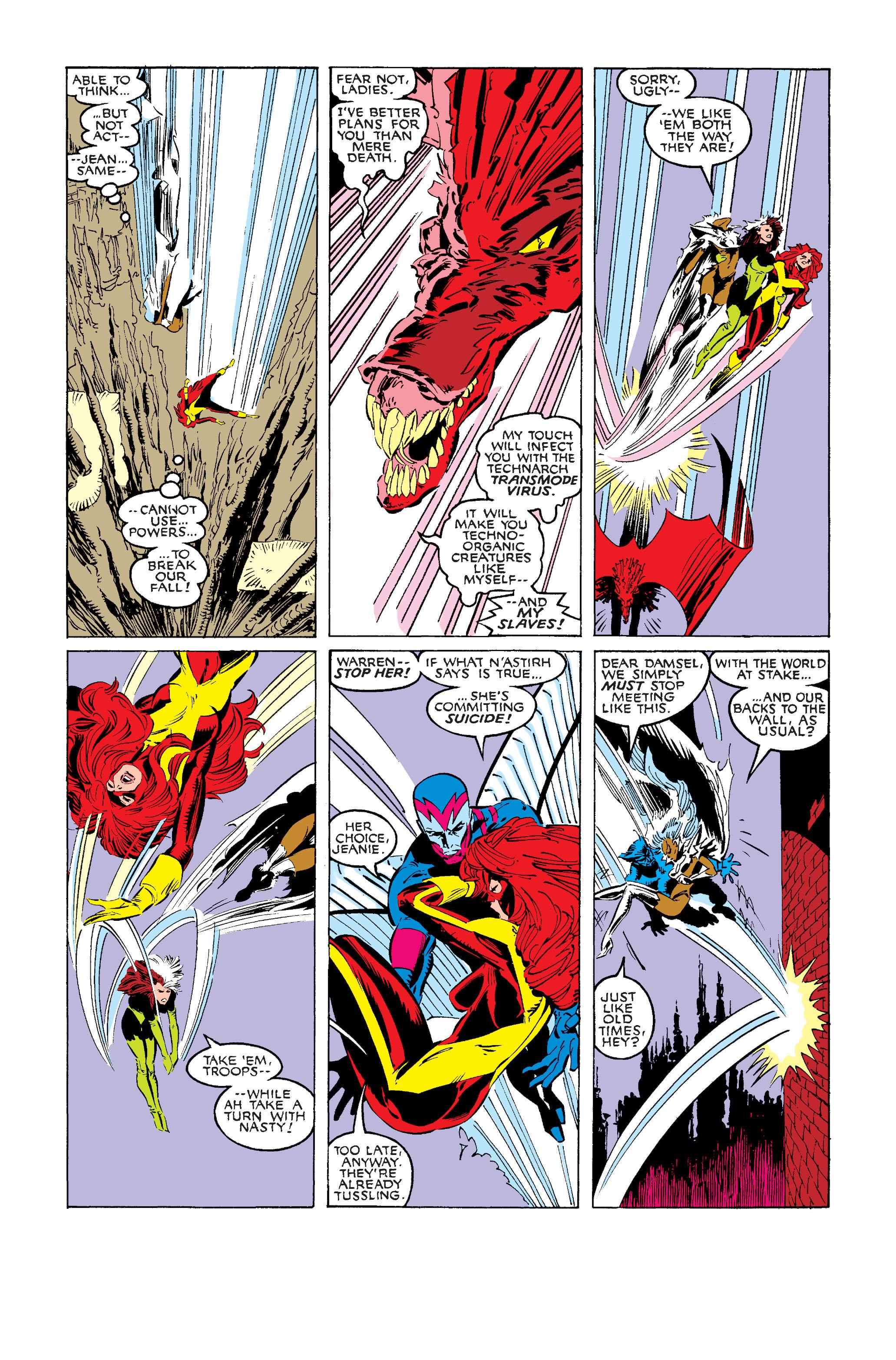 Read online Uncanny X-Men (1963) comic -  Issue #242 - 25