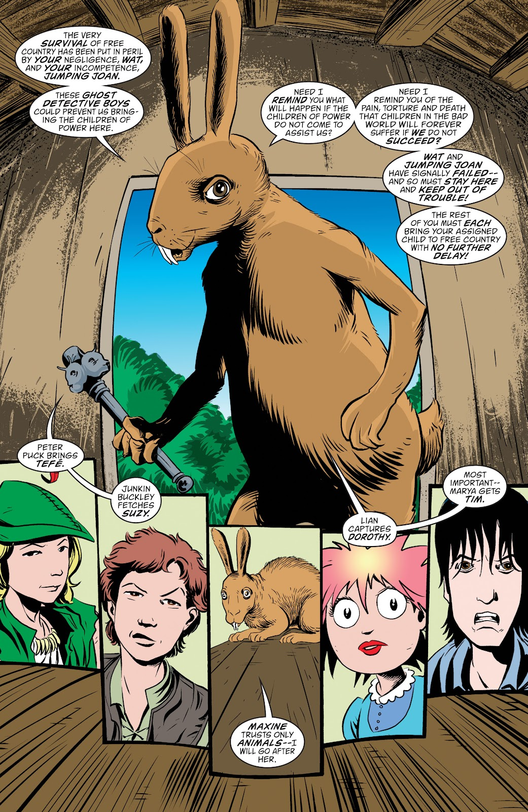 Read online The Children's Crusade comic -  Issue # _TPB (Part 1) - 65