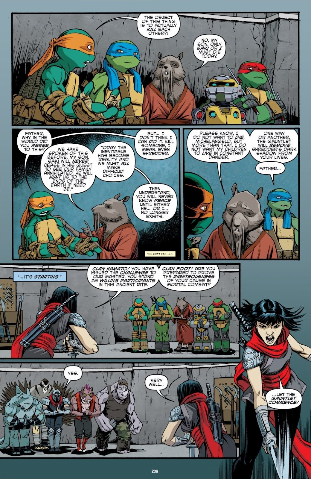 Read online Teenage Mutant Ninja Turtles: The IDW Collection comic -  Issue # TPB 6 (Part 3) - 30