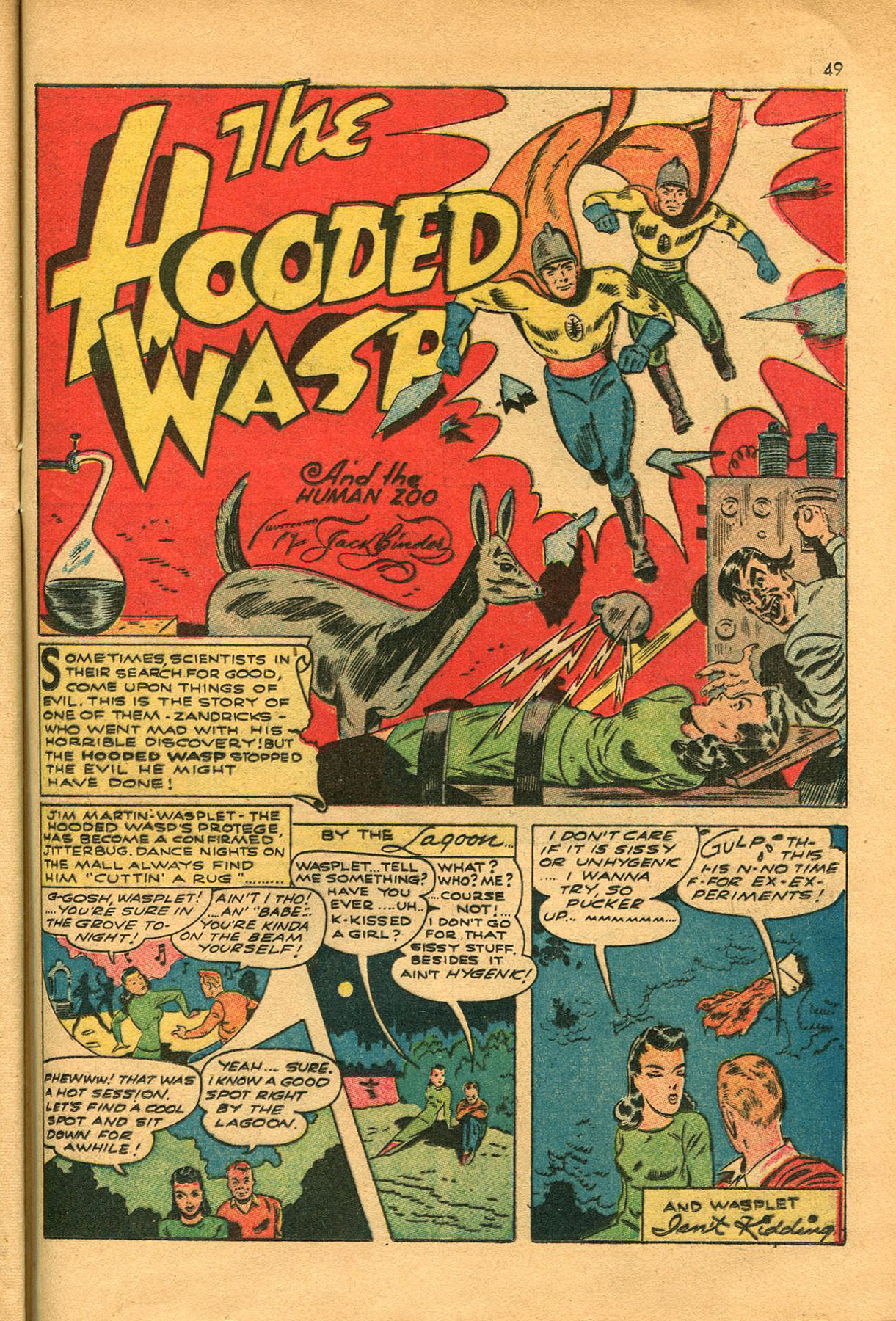 Read online Shadow Comics comic -  Issue #23 - 49