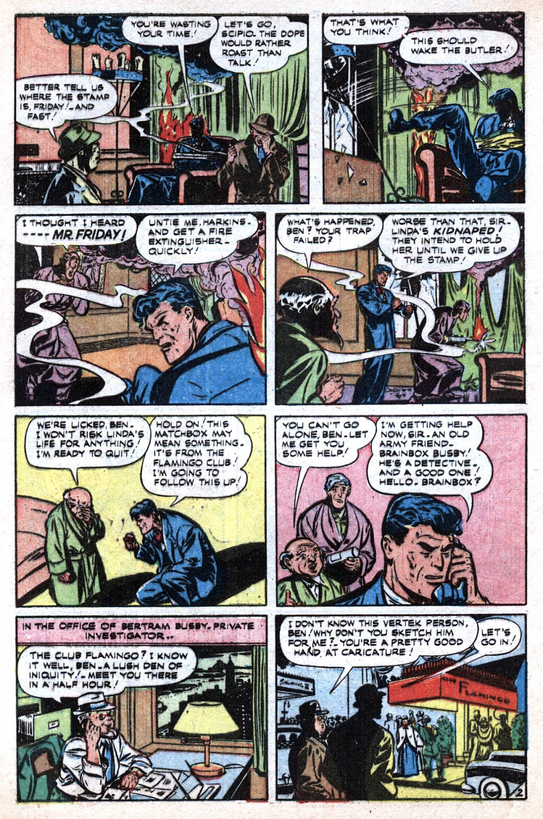 Read online Famous Funnies comic -  Issue #184 - 4