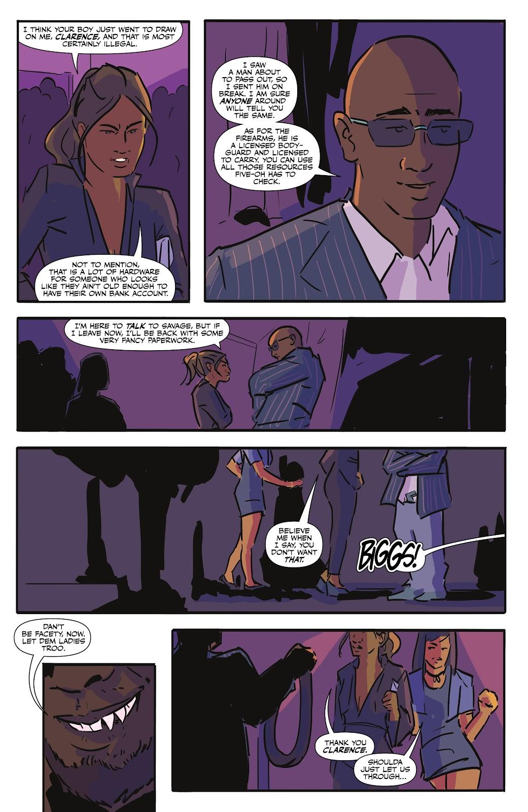 Read online Black (AF): Devil's Dye comic -  Issue #2 - 7