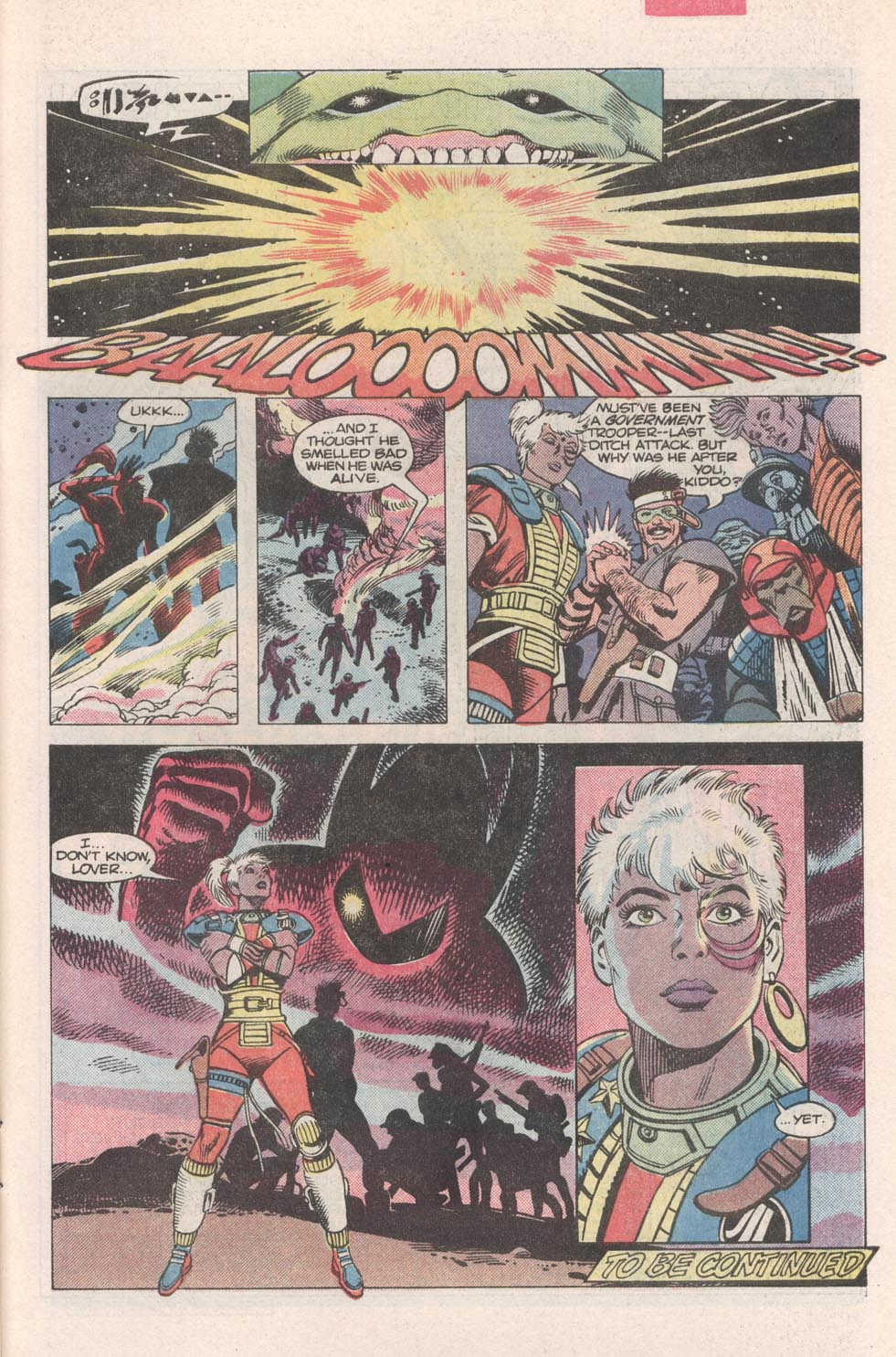 Read online Atari Force (1984) comic -  Issue #2 - 22