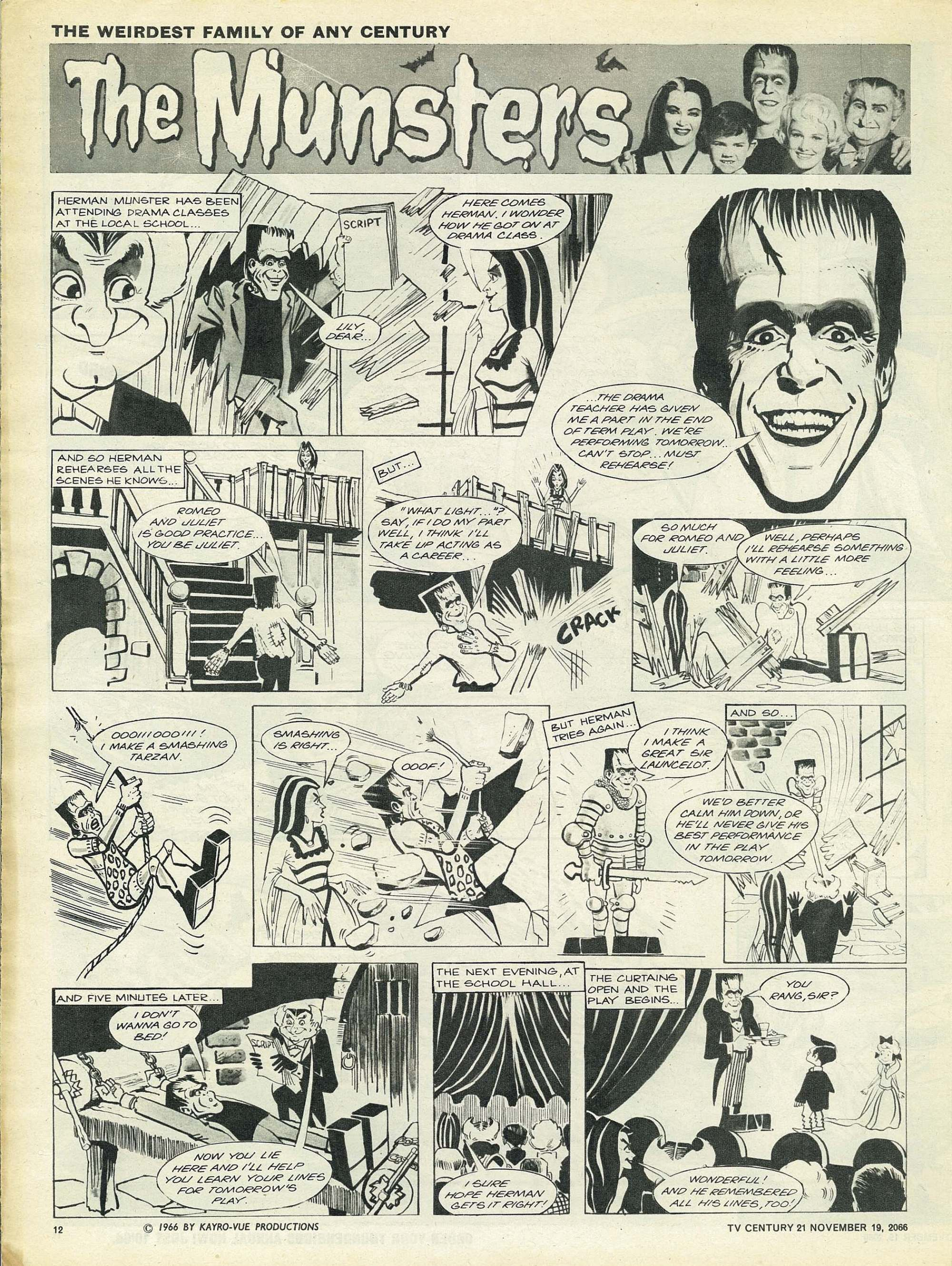 Read online TV Century 21 (TV 21) comic -  Issue #96 - 11