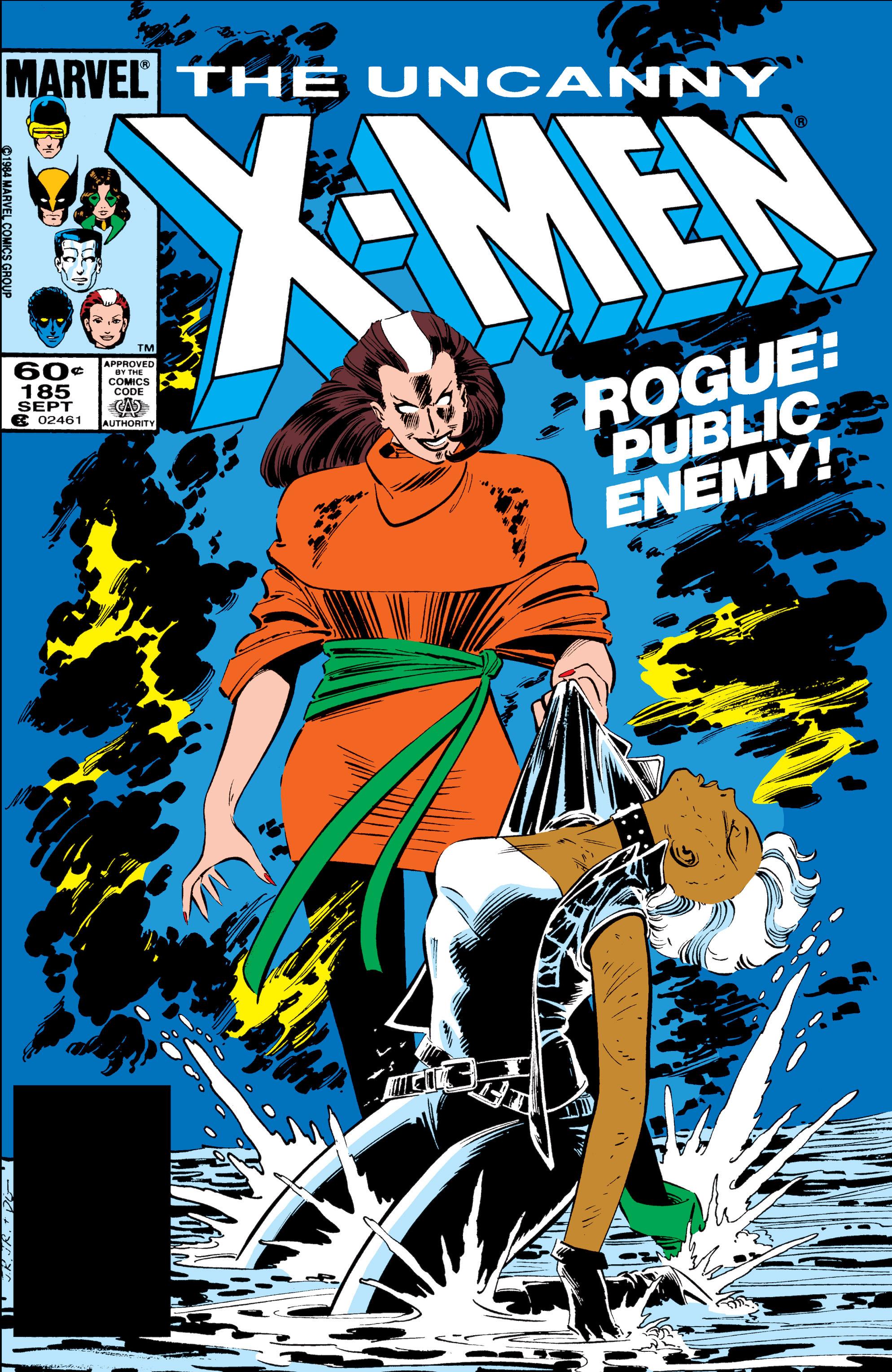 Read online Uncanny X-Men (1963) comic -  Issue #185 - 1