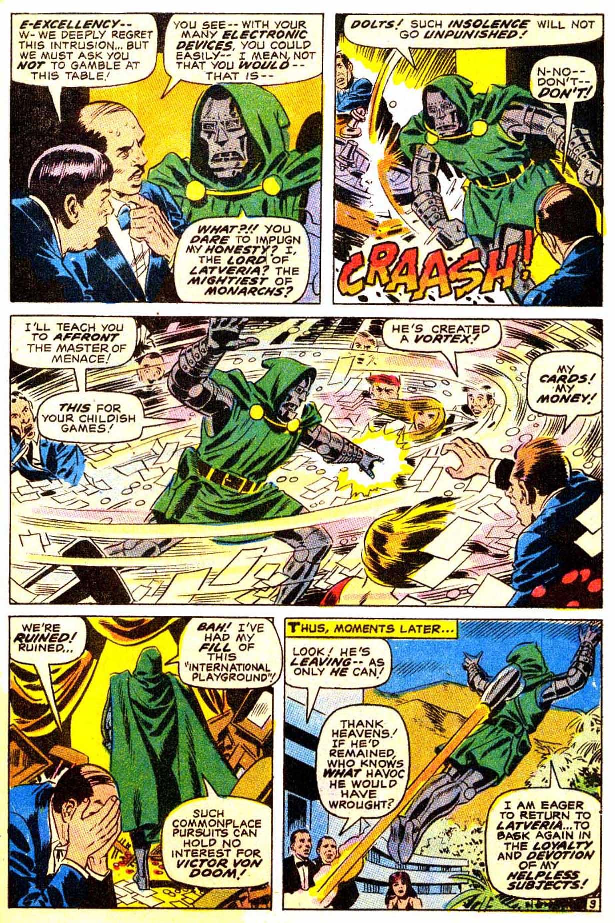 Read online Astonishing Tales (1970) comic -  Issue #4 - 10