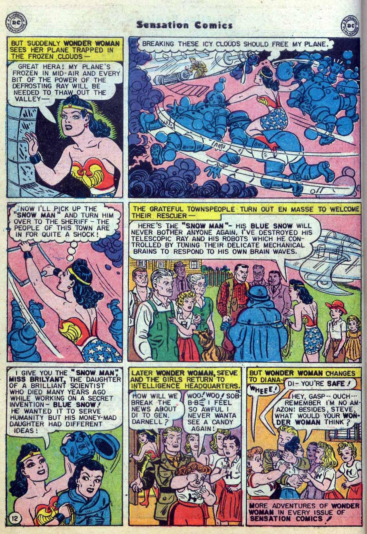 Read online Sensation (Mystery) Comics comic -  Issue #59 - 14