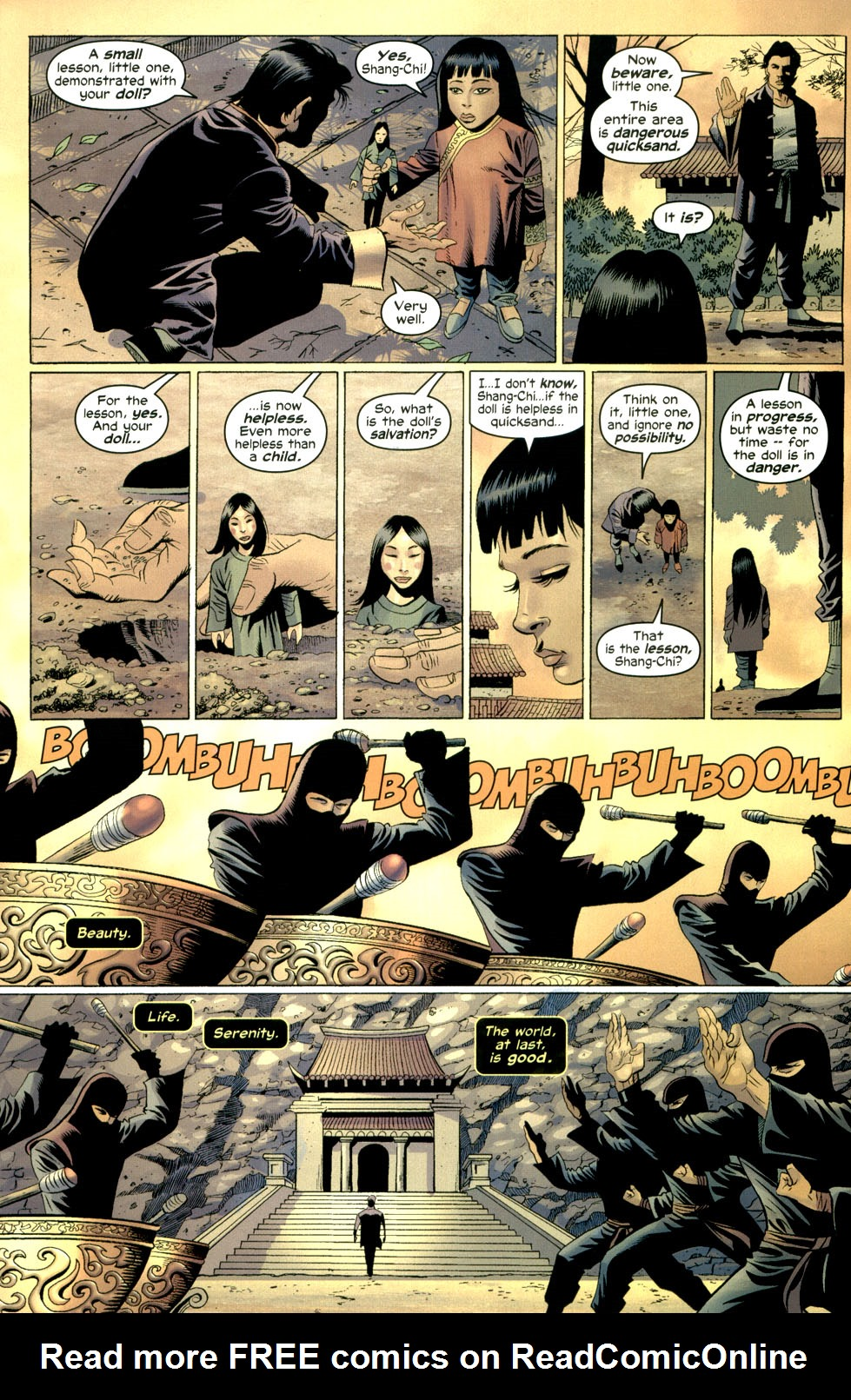 Read online Shang-Chi: Master of Kung Fu comic -  Issue #1 - 7
