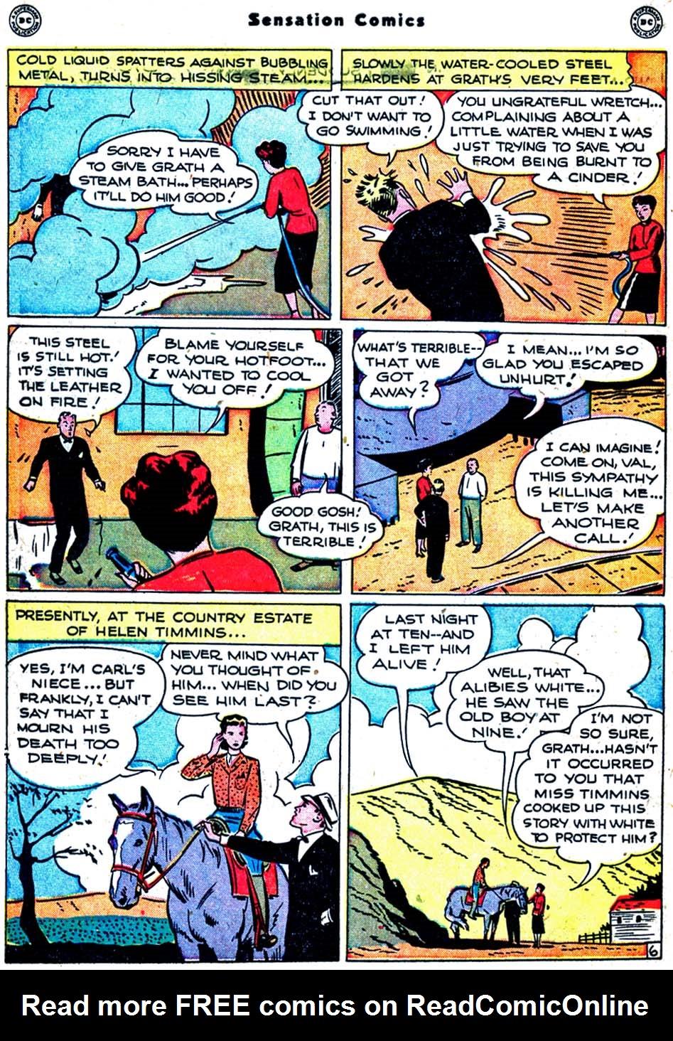 Read online Sensation (Mystery) Comics comic -  Issue #91 - 44