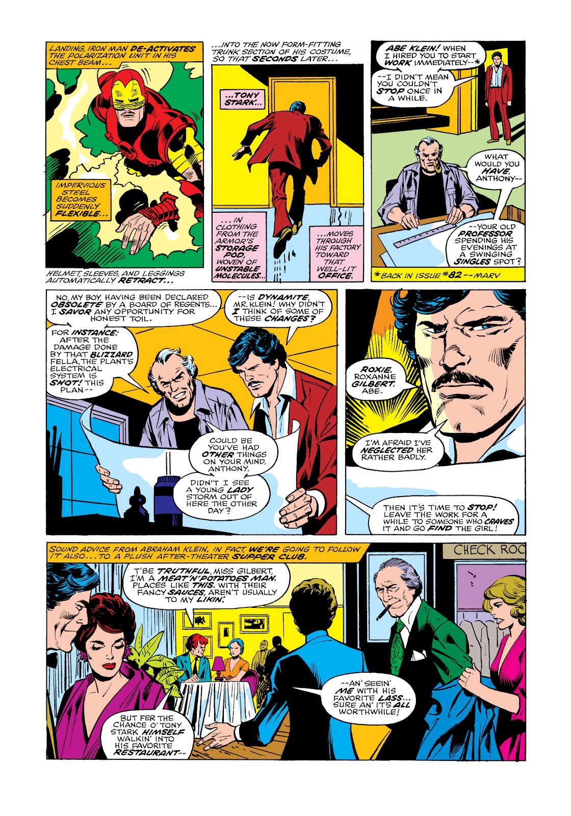 Read online Marvel Masterworks: The Invincible Iron Man comic -  Issue # TPB 11 (Part 2) - 64