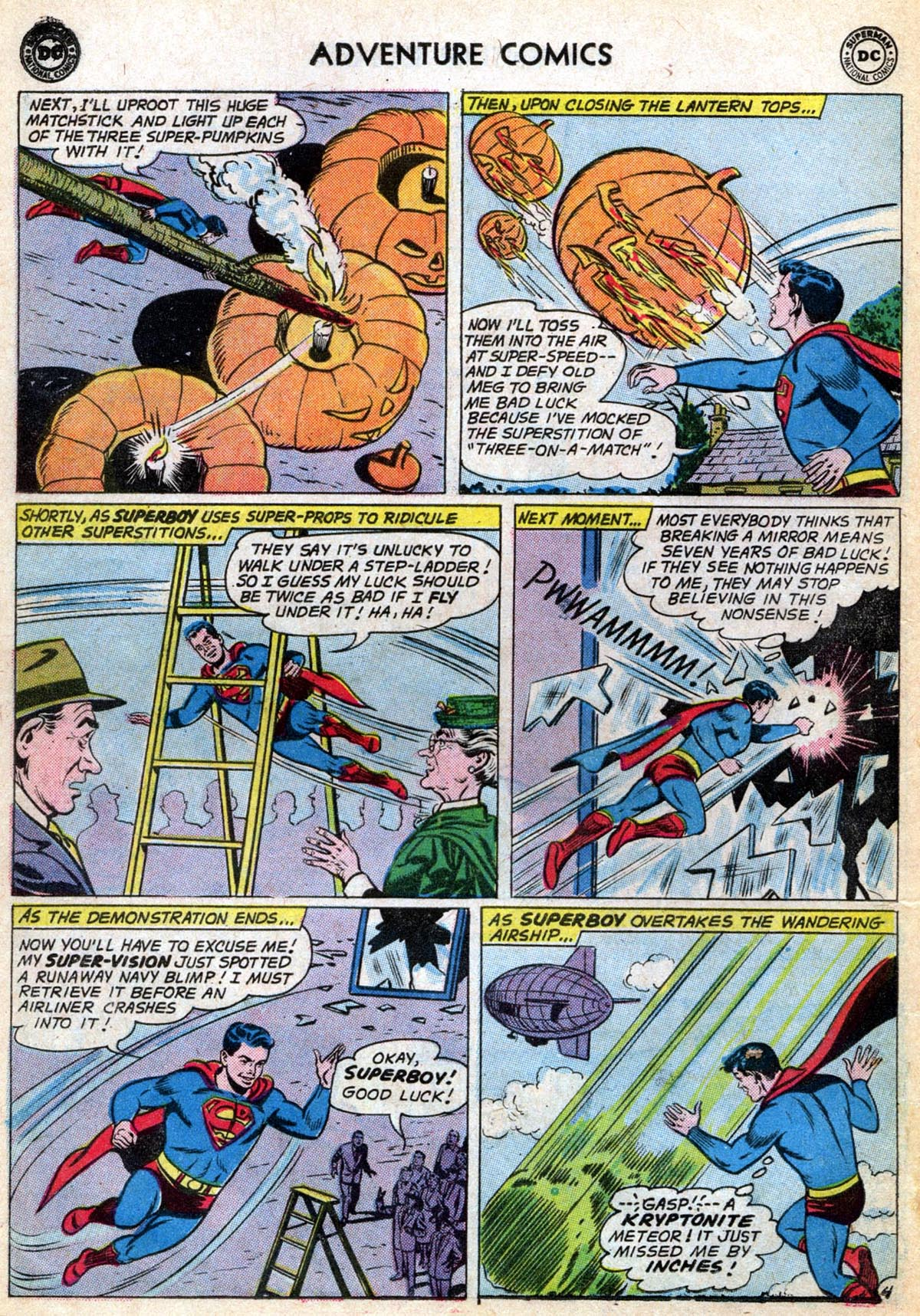 Read online Adventure Comics (1938) comic -  Issue #286 - 6