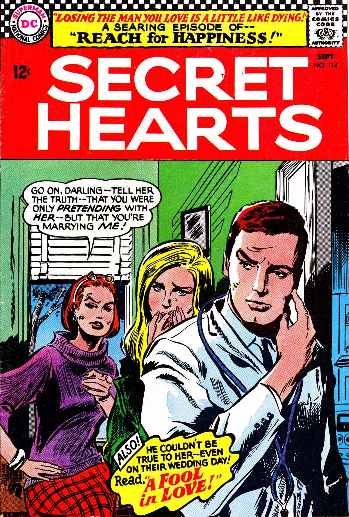 Read online Secret Hearts comic -  Issue #114 - 1
