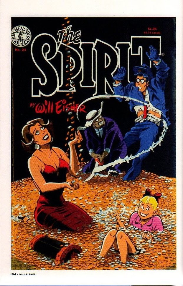 Read online Will Eisner's The Spirit Archives comic -  Issue # TPB 26 (Part 2) - 71