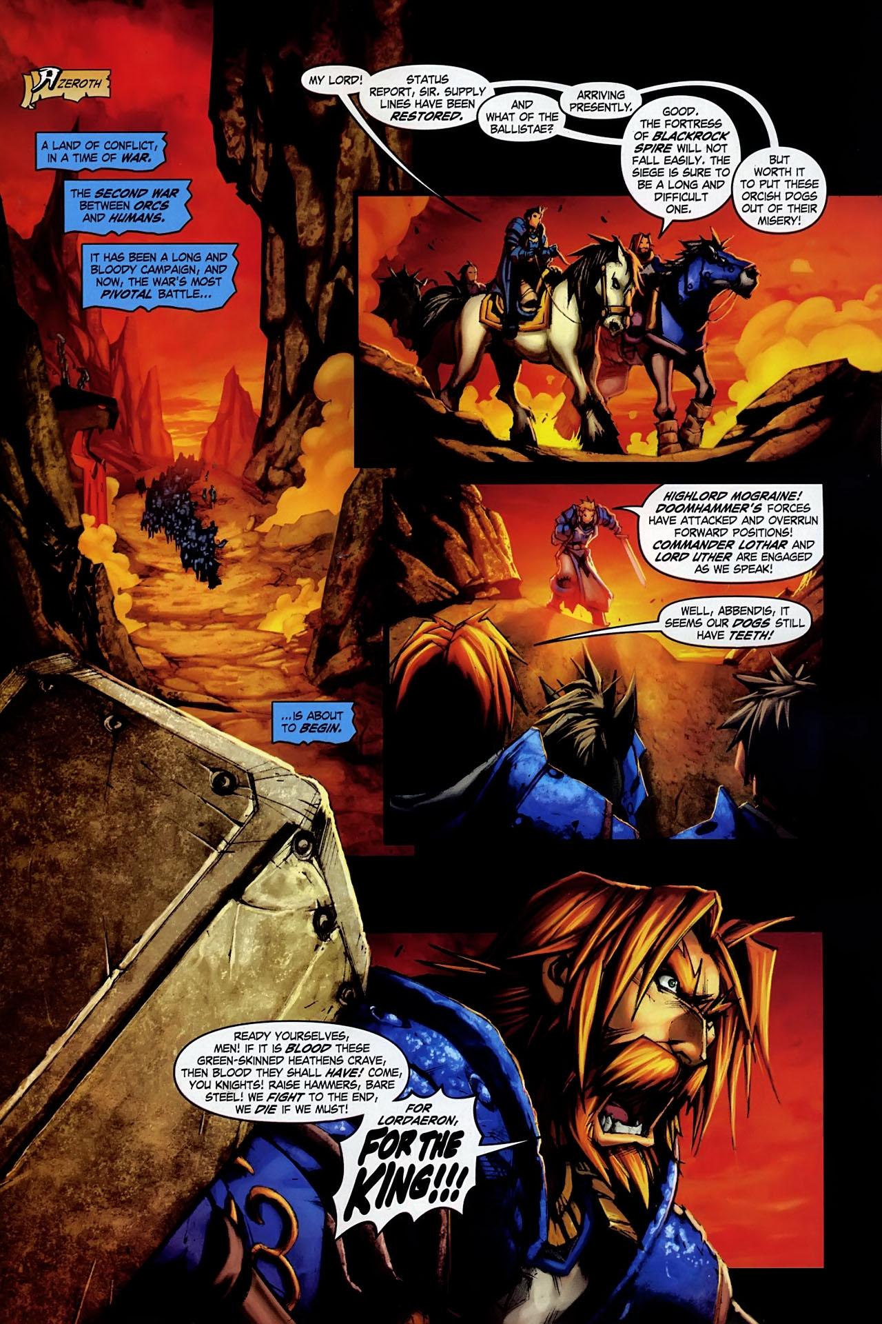 Read online World of Warcraft: Ashbringer comic -  Issue #1 - 2