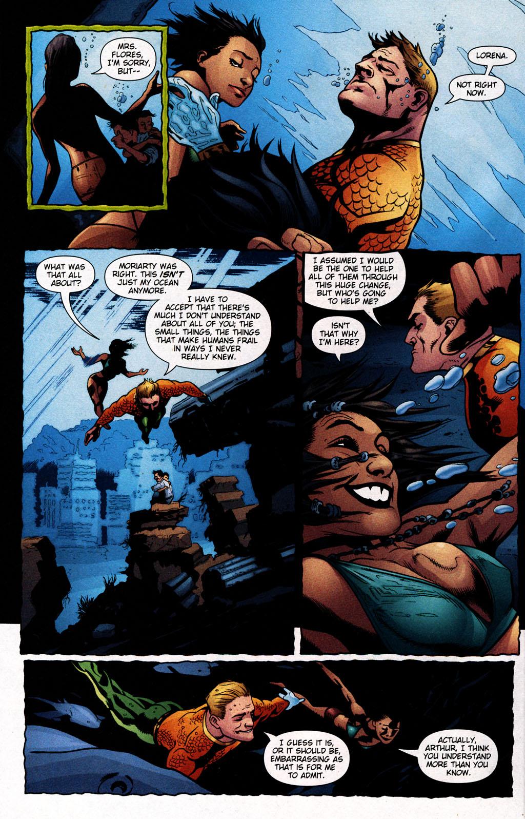 Read online Aquaman (2003) comic -  Issue #25 - 22