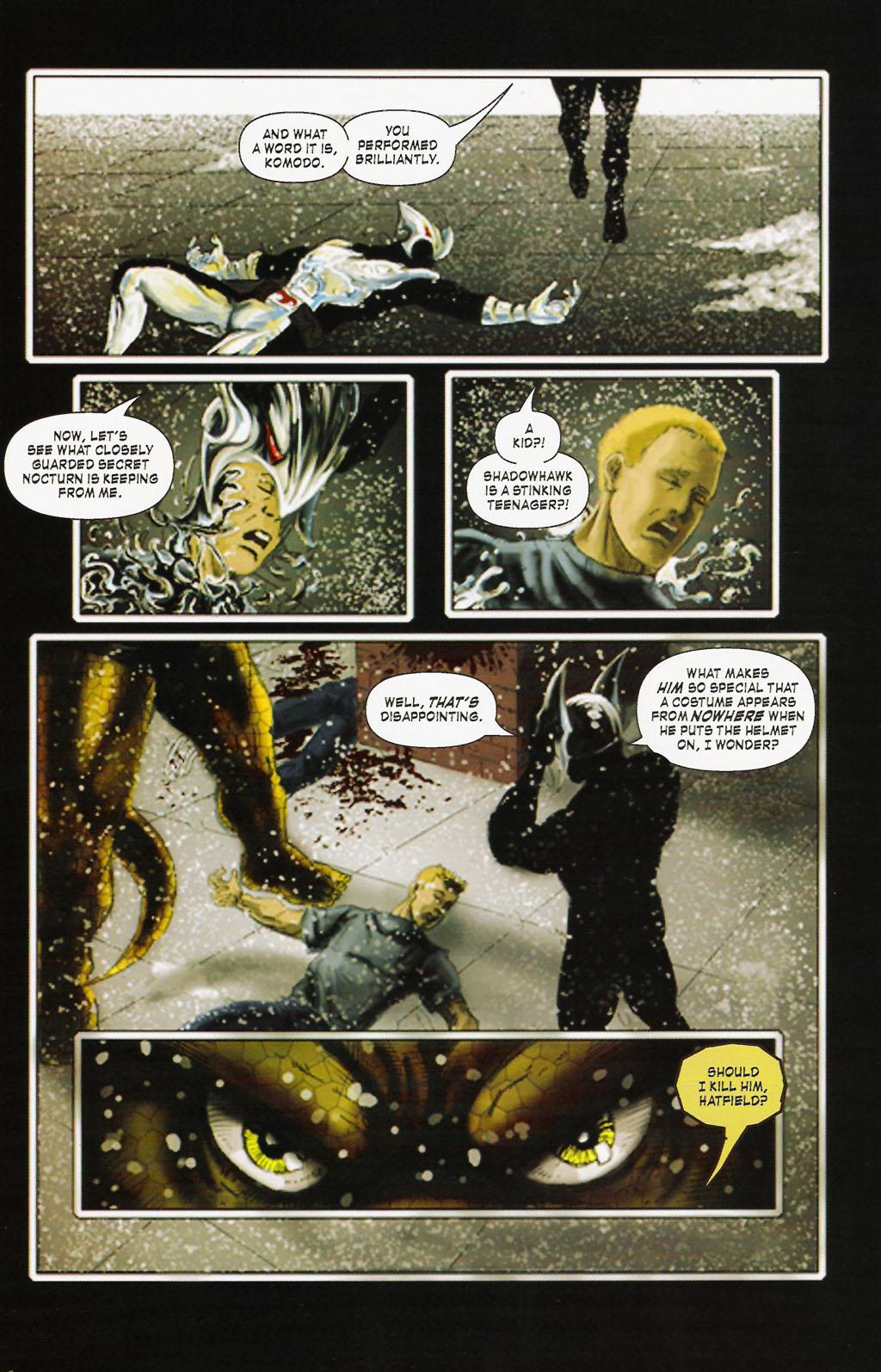 Read online ShadowHawk (2005) comic -  Issue #9 - 22