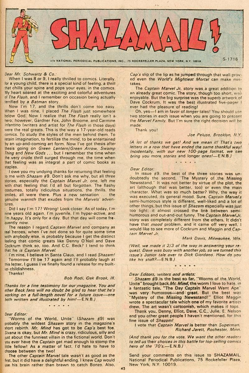 Read online Shazam! (1973) comic -  Issue #12 - 38