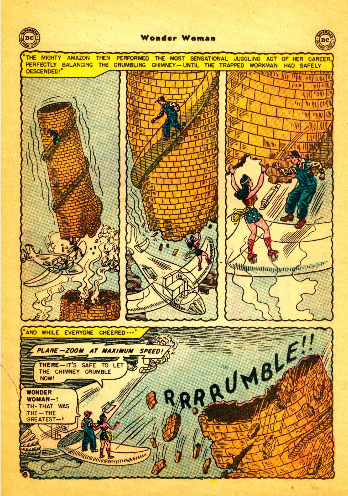 Read online Wonder Woman (1942) comic -  Issue #86 - 20