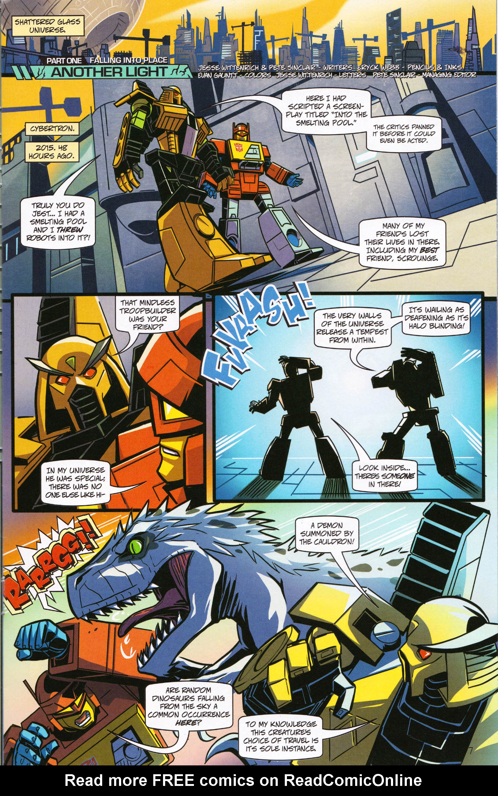 Read online Transformers: Collectors' Club comic -  Issue #61 - 7