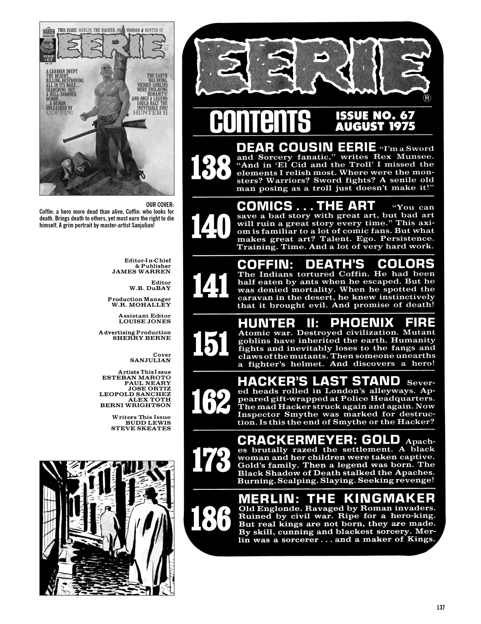 Read online Eerie Archives comic -  Issue # TPB 14 - 138