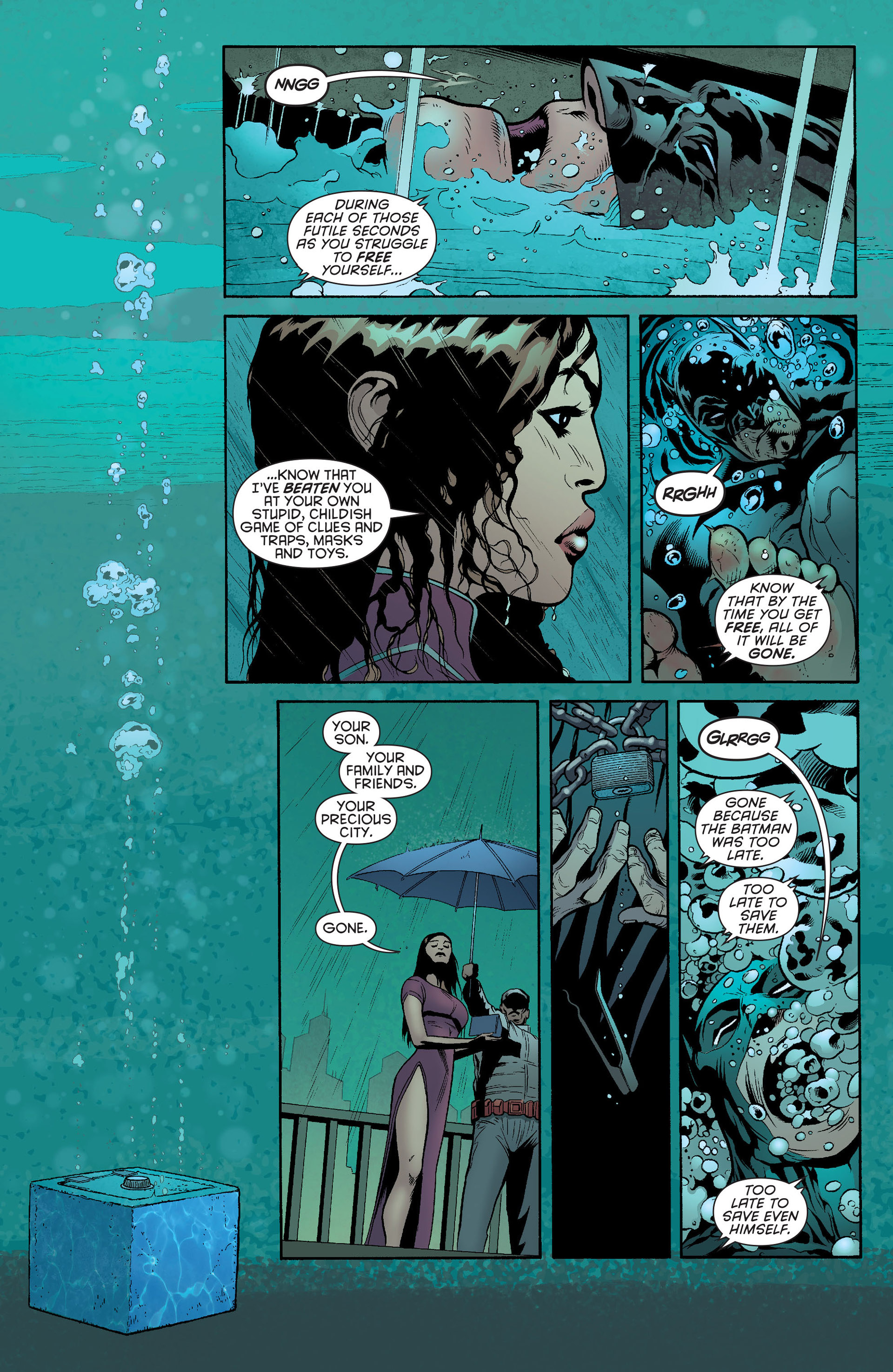 Read online Batman and Robin (2011) comic -  Issue #23 - Batman and Nightwing - 2
