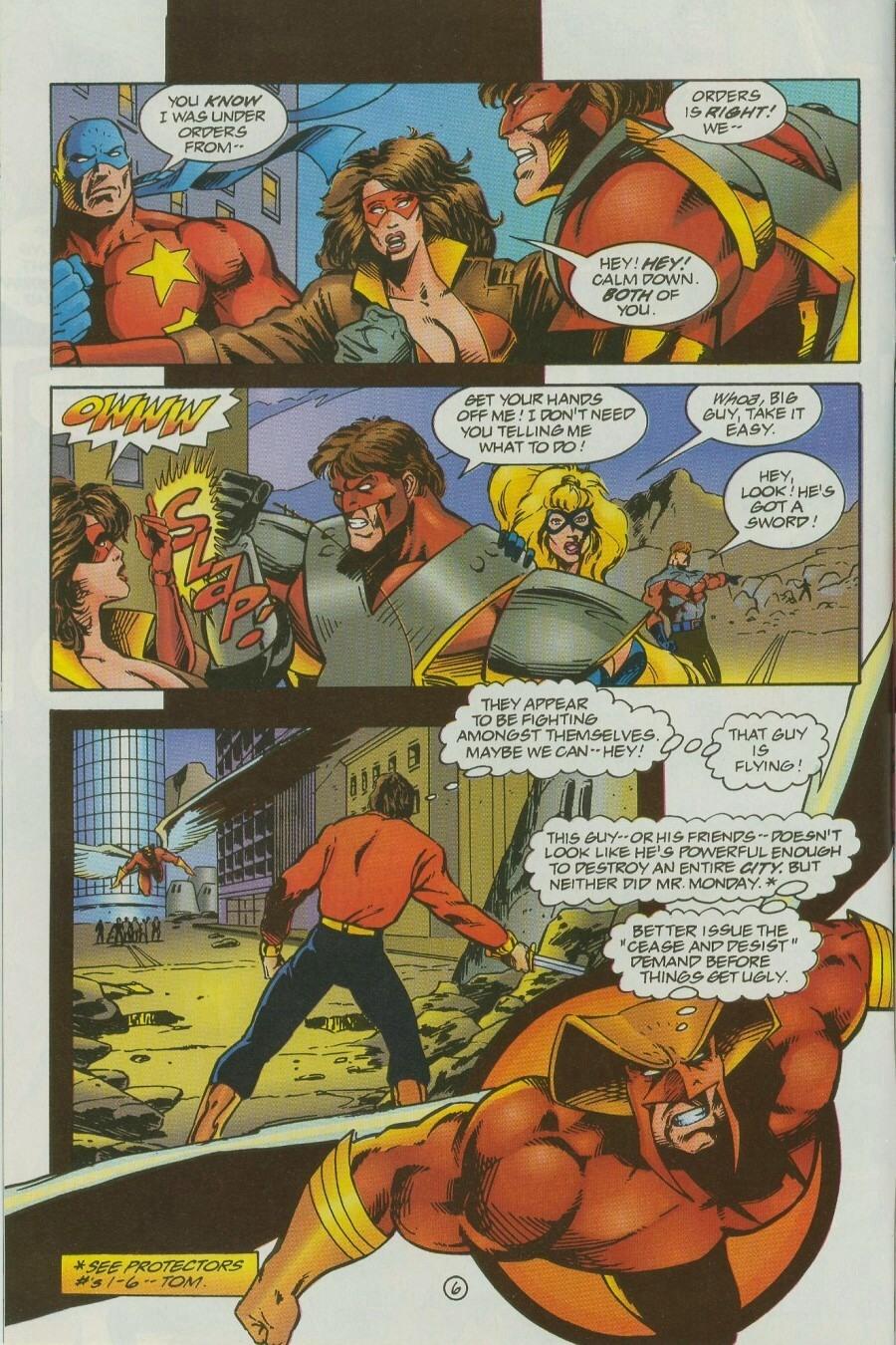 Read online Ex-Mutants comic -  Issue #12 - 7
