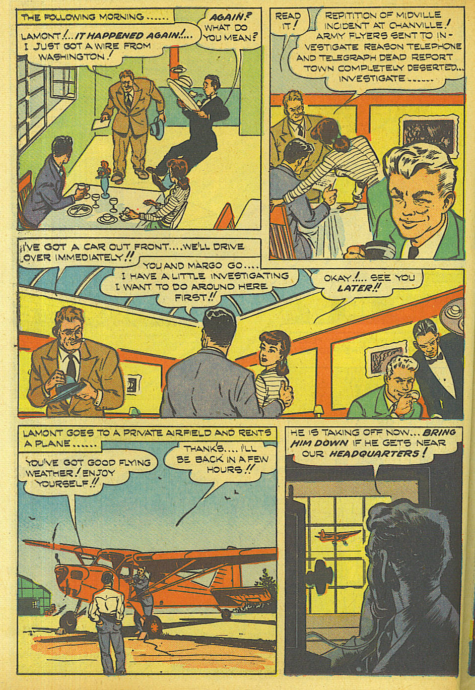 Read online Shadow Comics comic -  Issue #87 - 37
